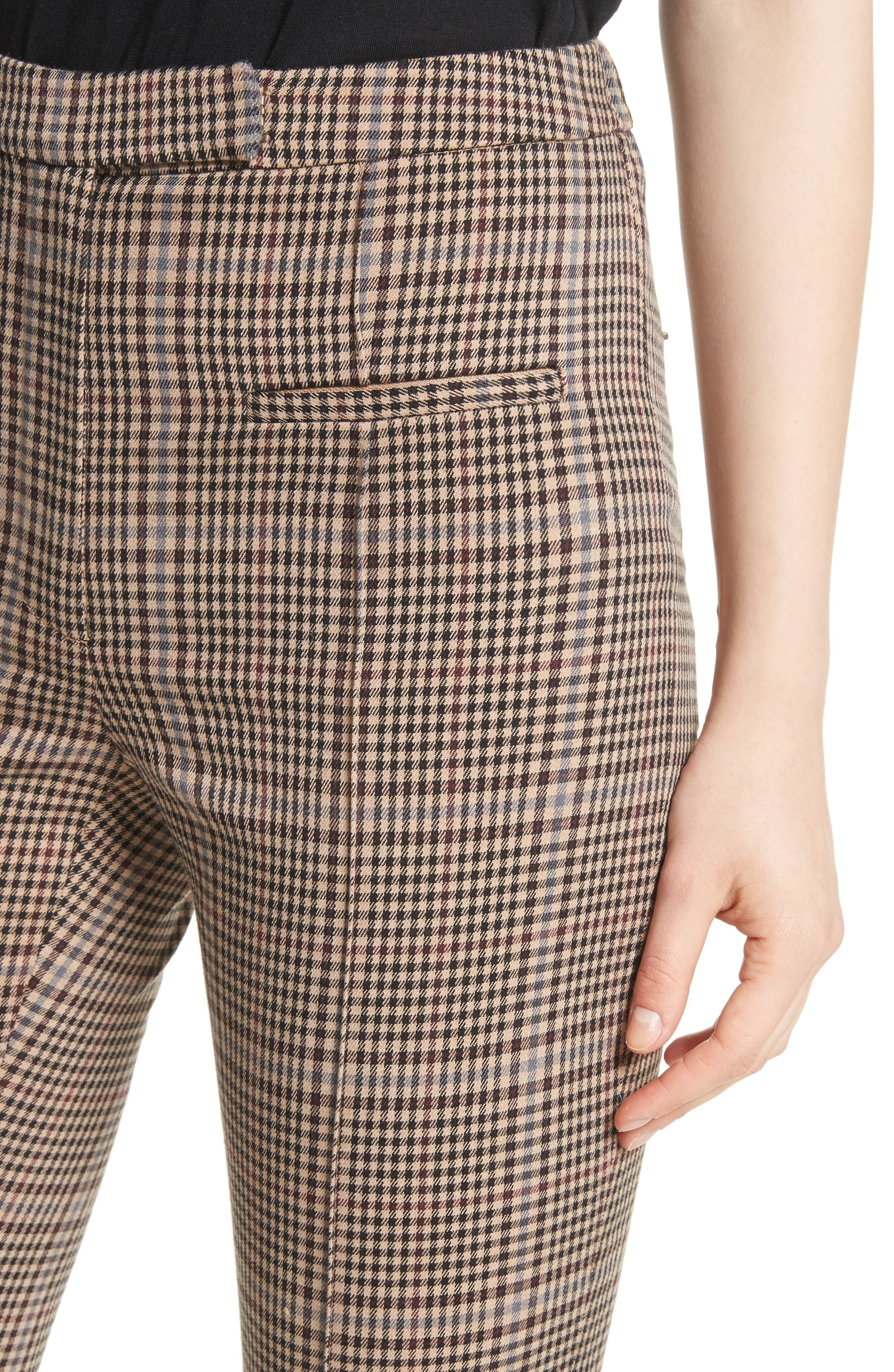 Alternate Image 4  - Tracy Reese Plaid Stirrup Pants