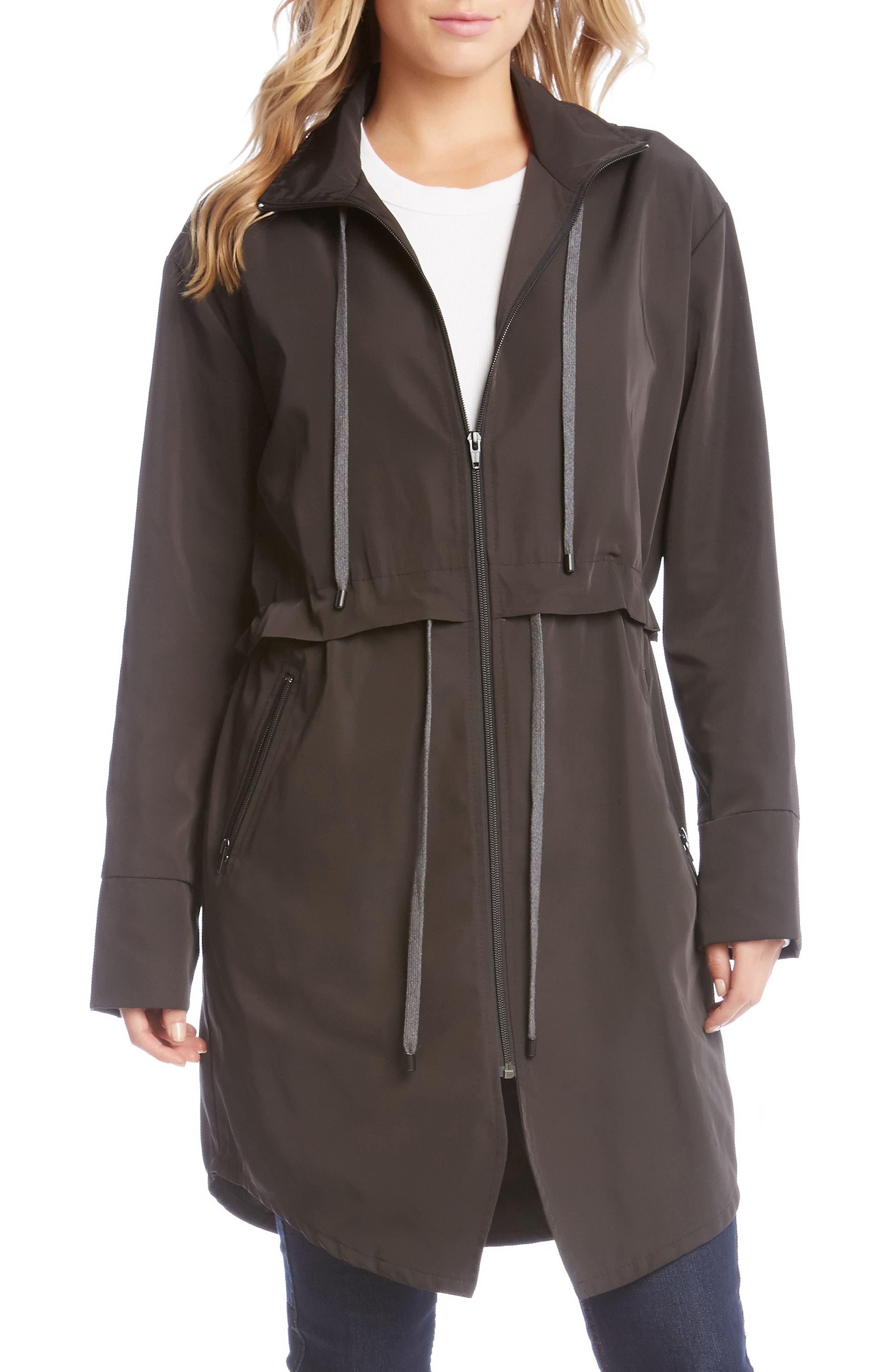 Main Image - Karen Kane All Weather Utility Jacket