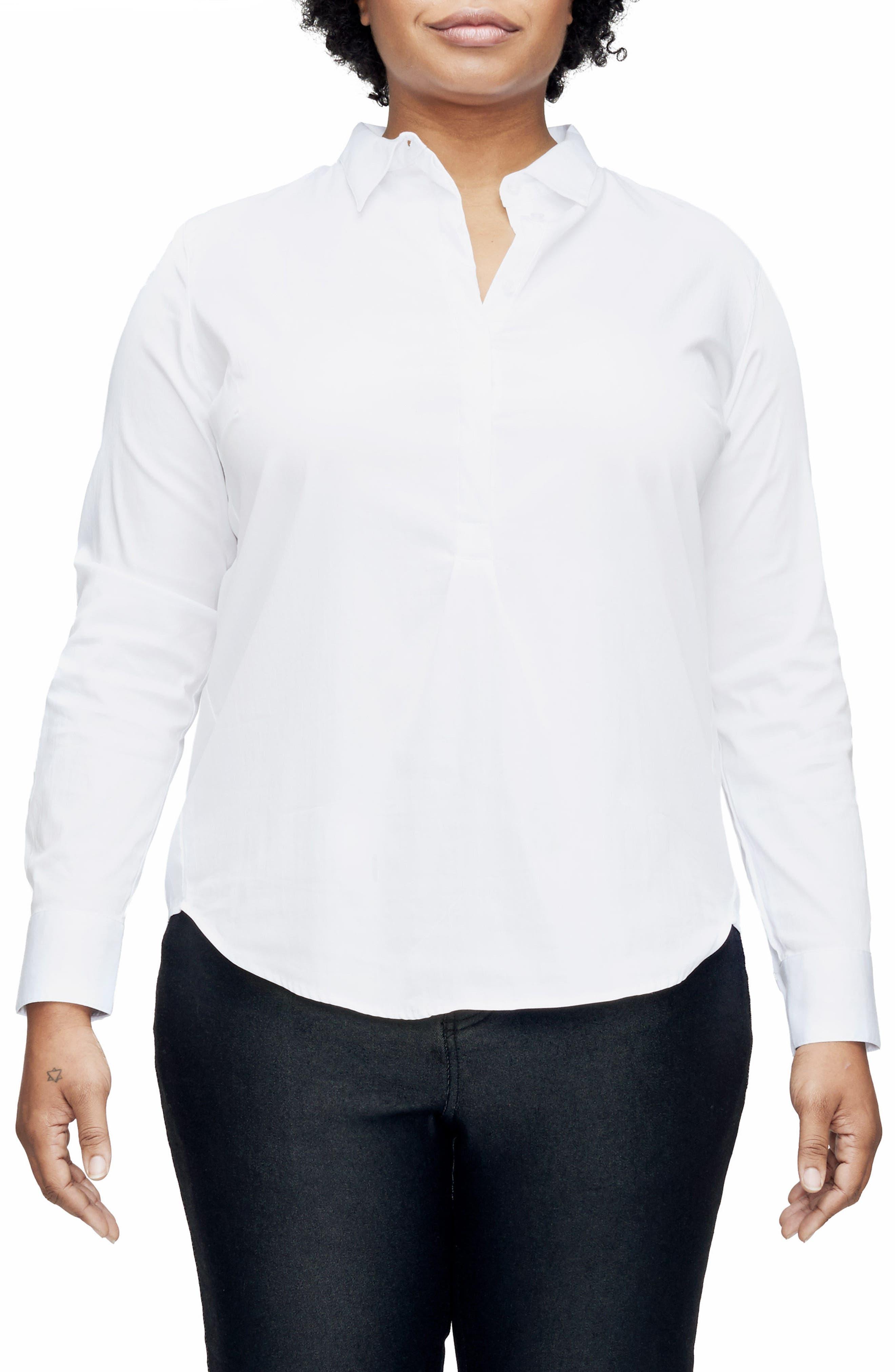 Elbe Shirt,                             Main thumbnail 1, color,                             White