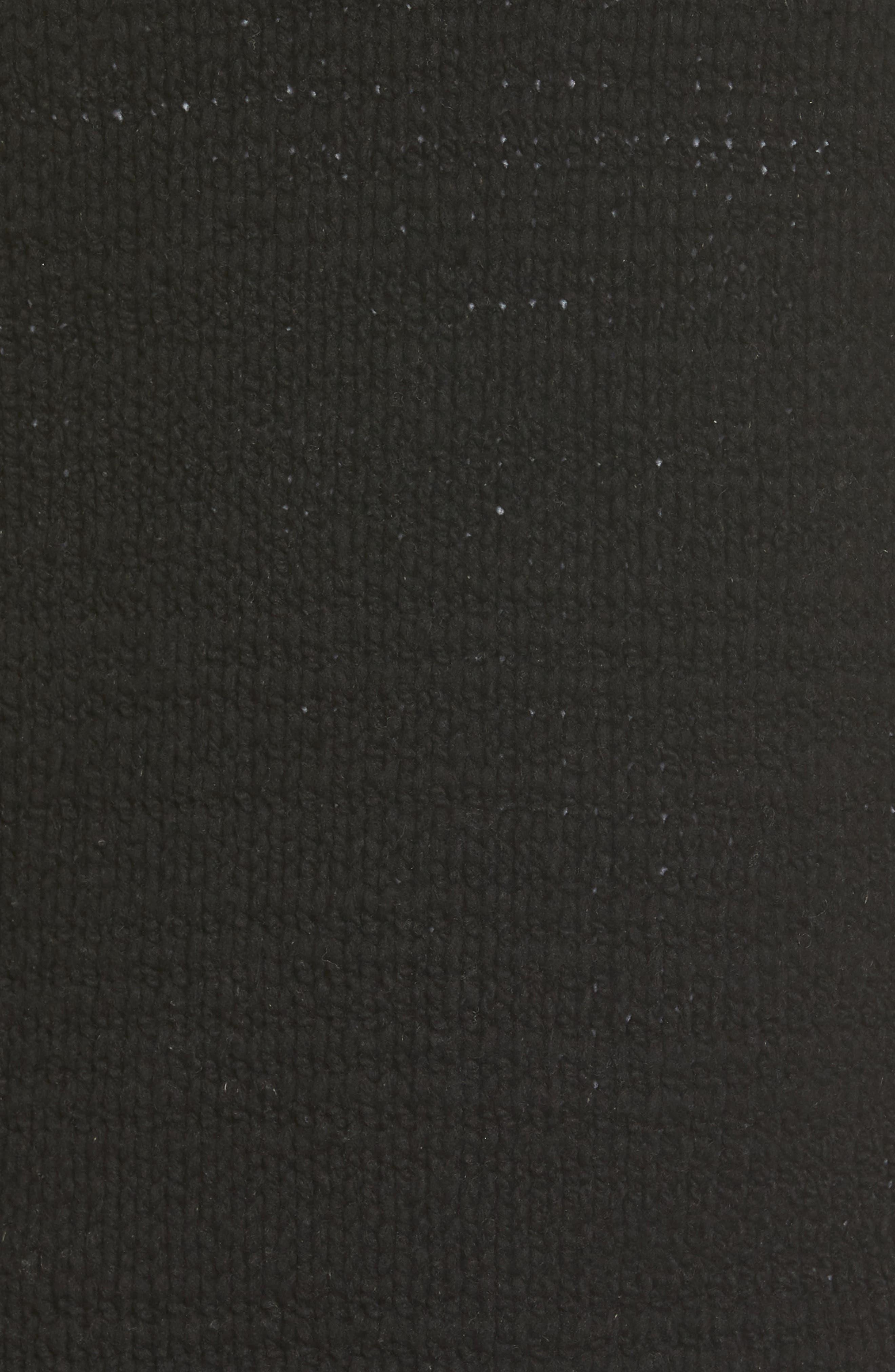 Raglan Sweater,                             Alternate thumbnail 5, color,                             Black