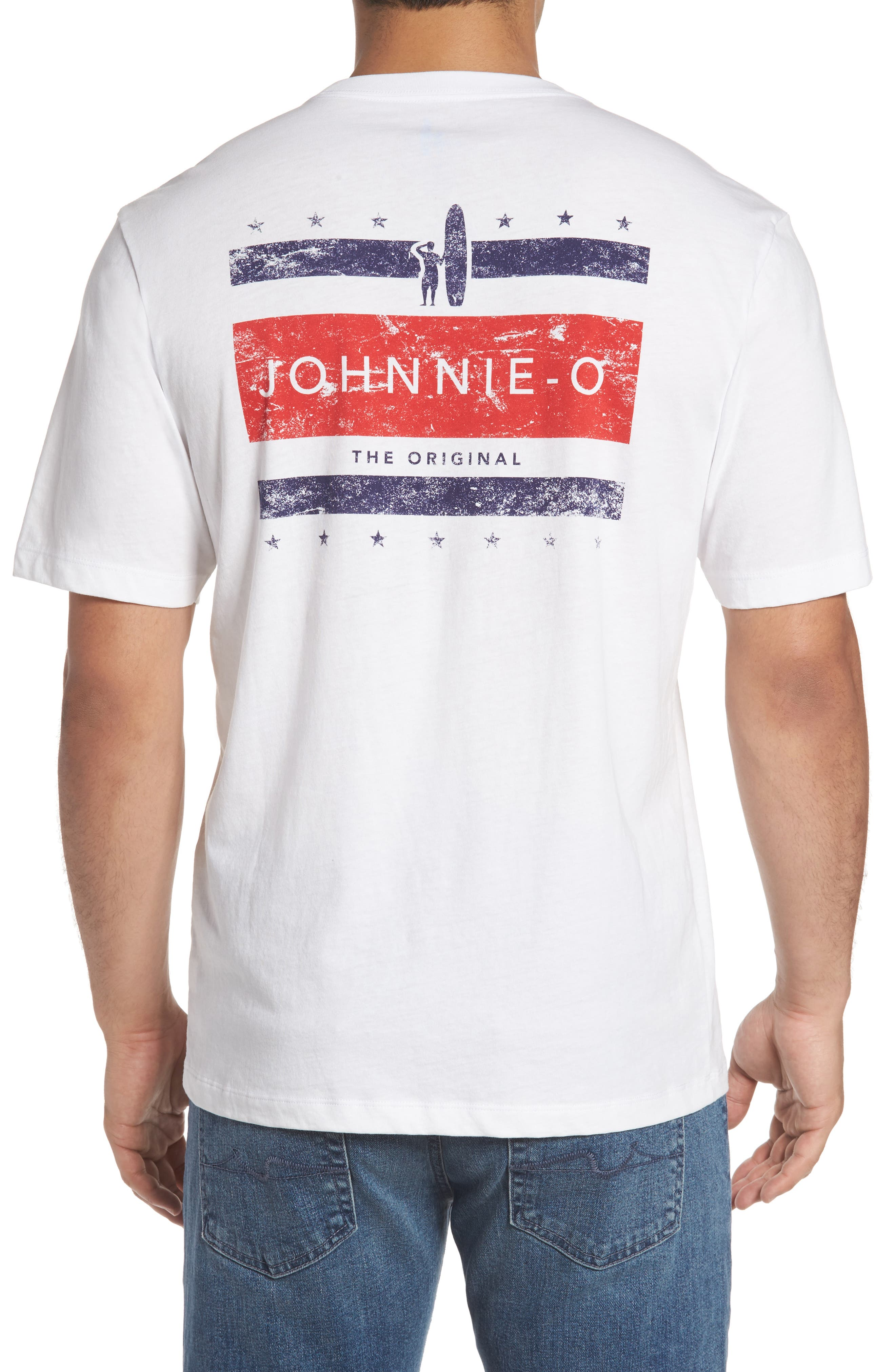 Alternate Image 1 Selected - johnnie-O Union Graphic T-Shirt