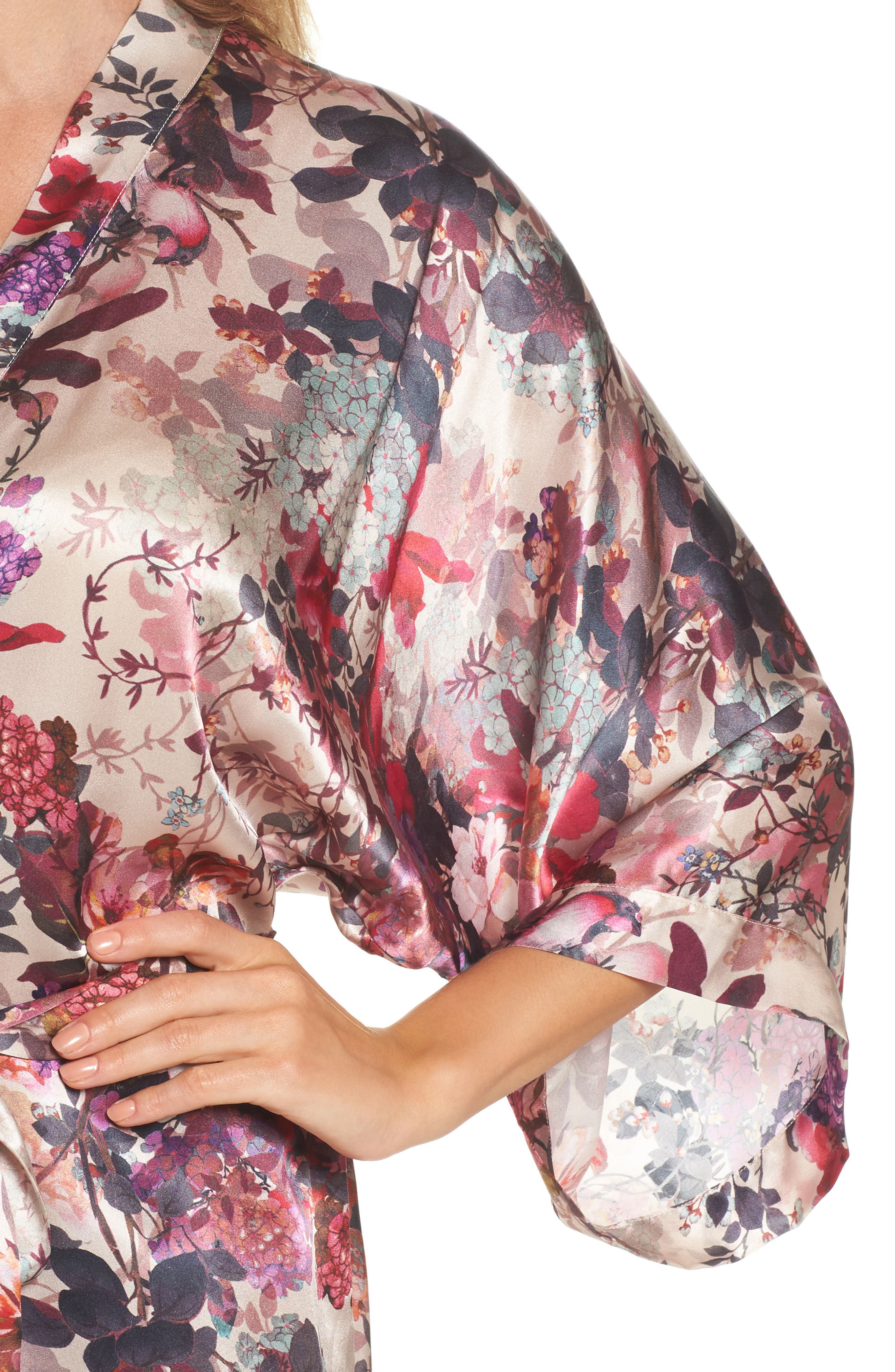 Alternate Image 5  - Samantha Chang Silk Kimono