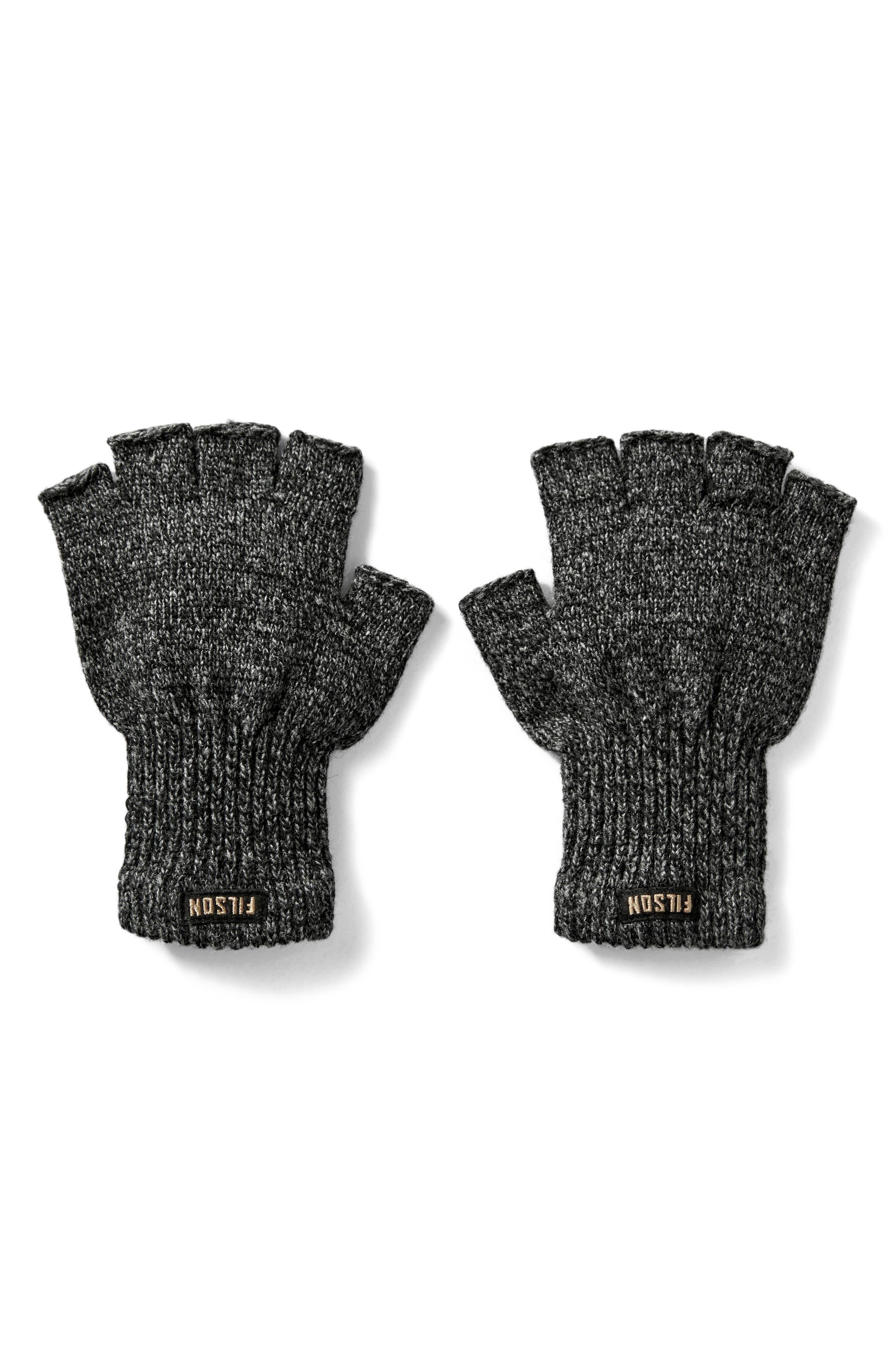 Main Image - Filson Fingerless Wool Blend Knit Gloves