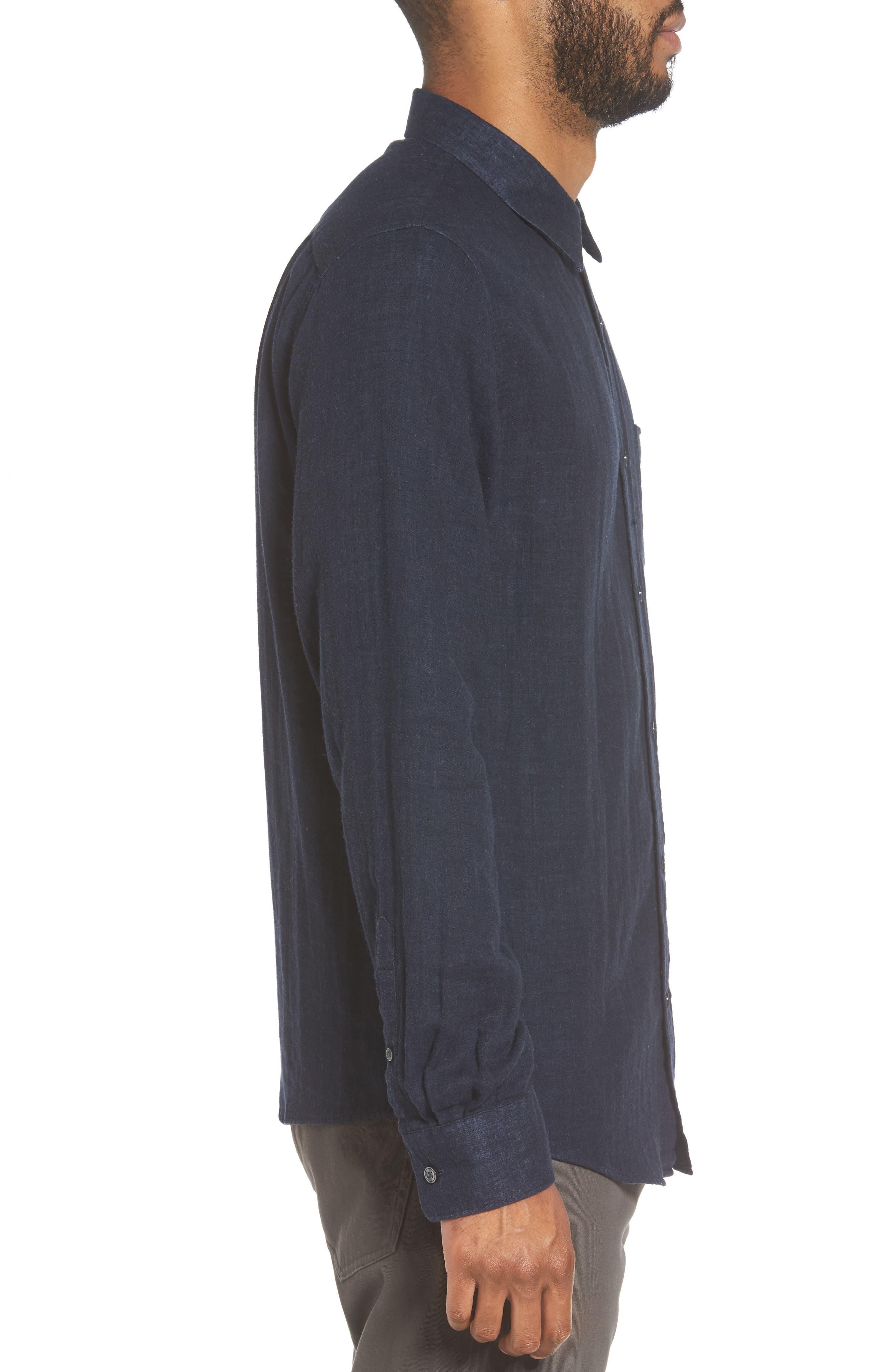 Alternate Image 3  - Vince Regular Fit Solid Sport Shirt