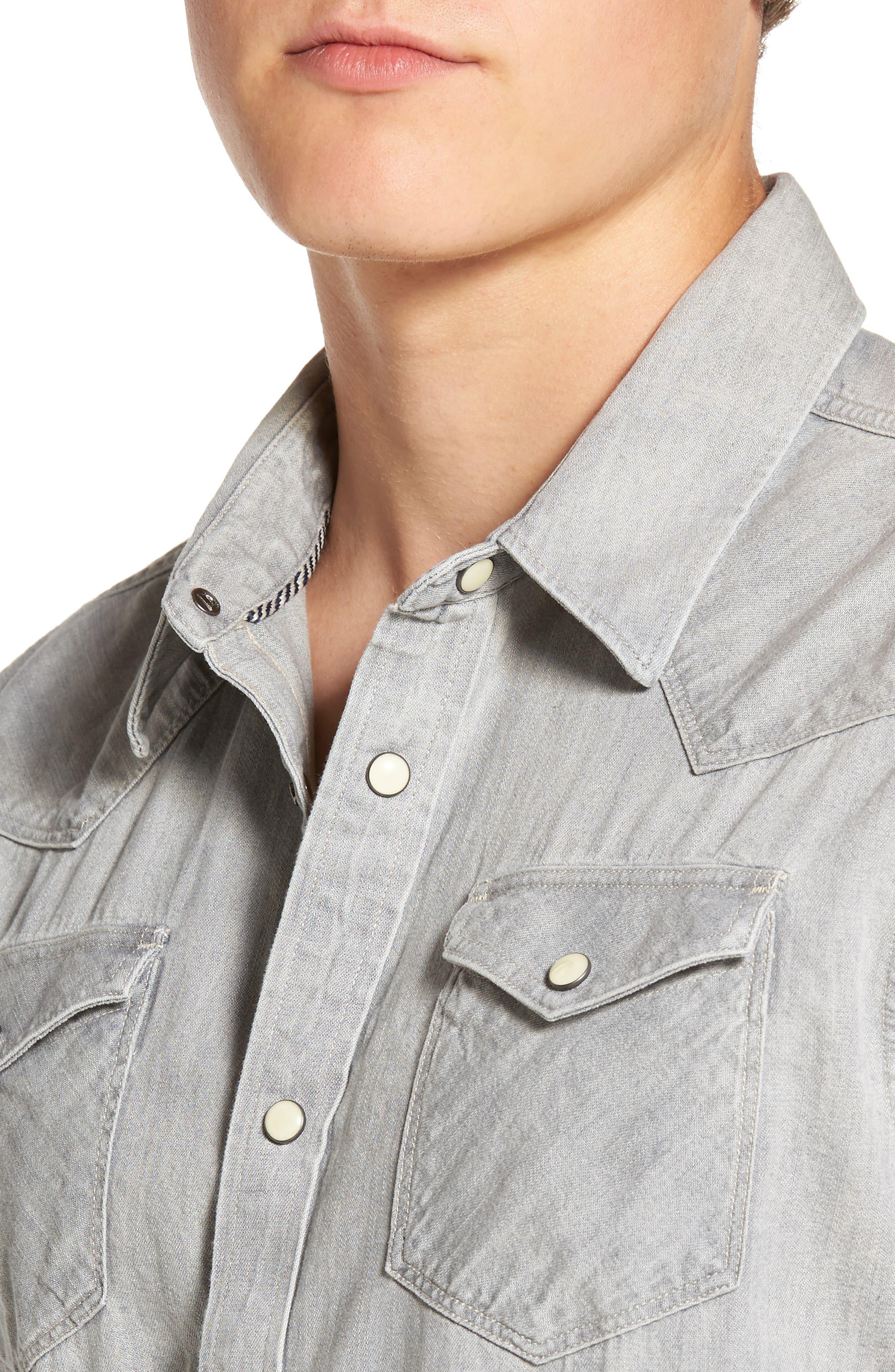 Alternate Image 4  - Scotch & Soda Western Shirt