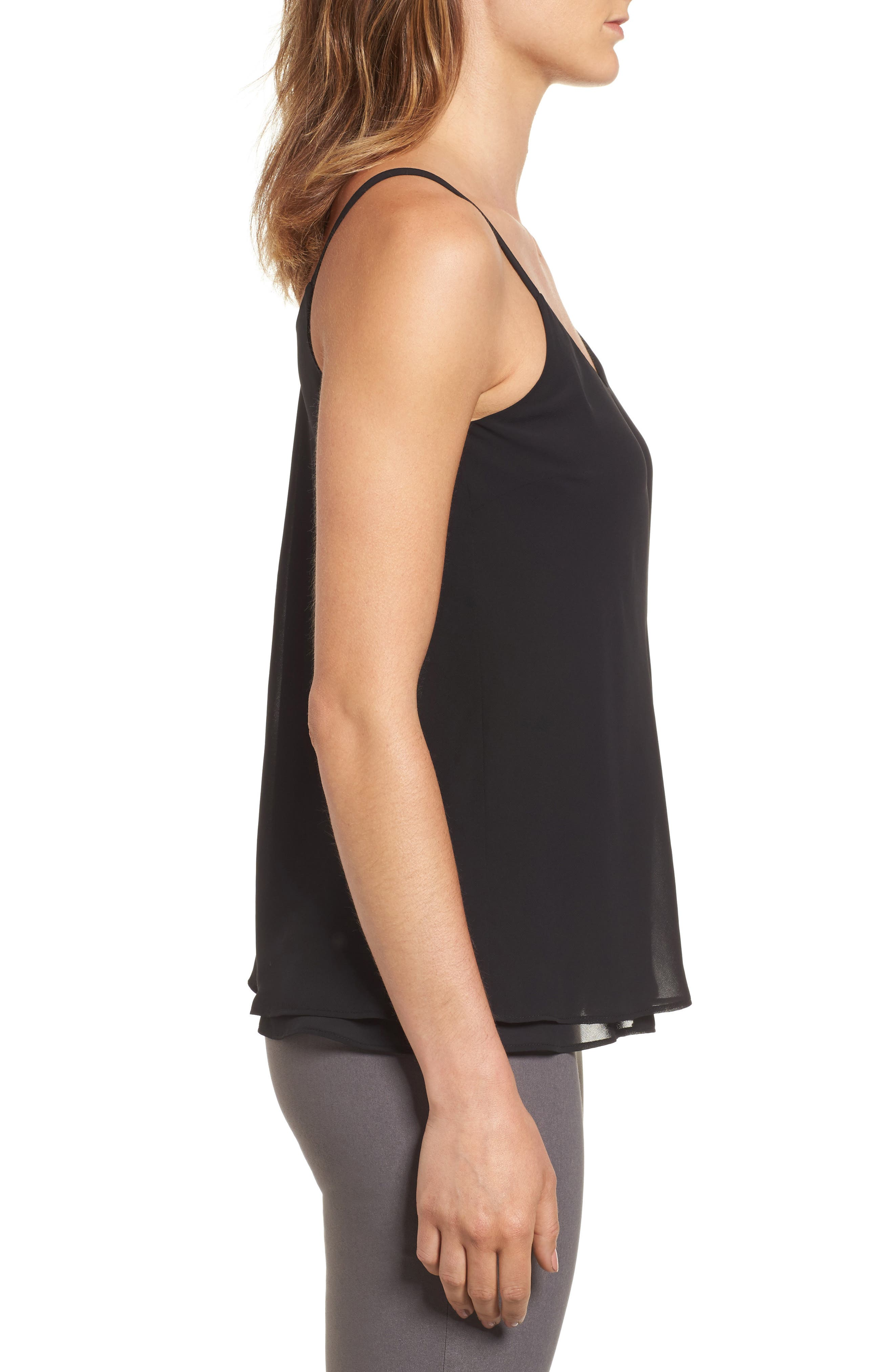 Paired Up Tank,                             Alternate thumbnail 3, color,                             Black Onyx