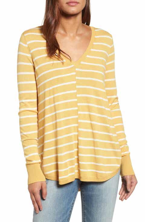 Women's Caslon® Yellow Sweaters: Sale | Nordstrom