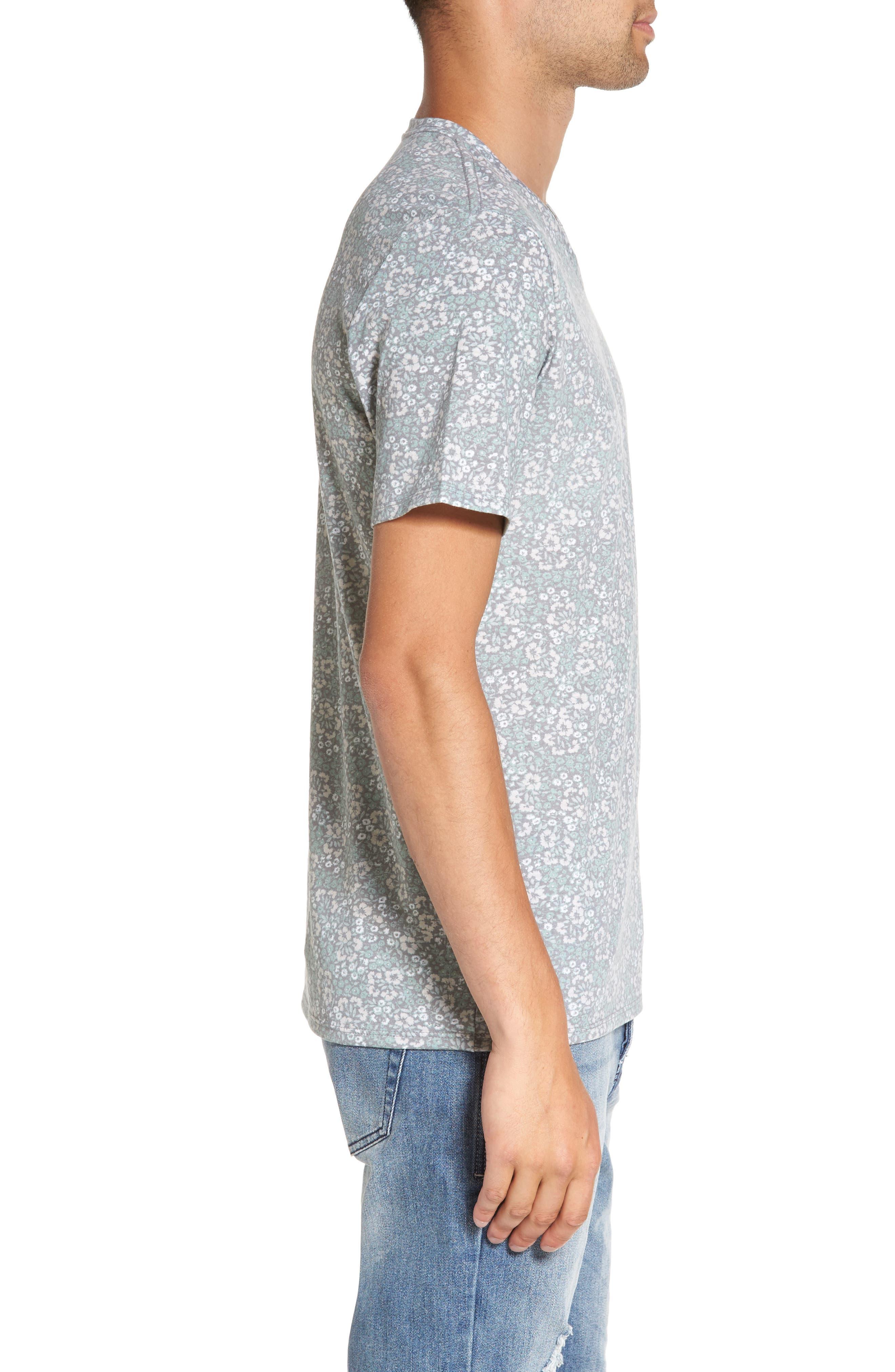 Alternate Image 3  - The Rail V-Neck T-Shirt (2 for $30)
