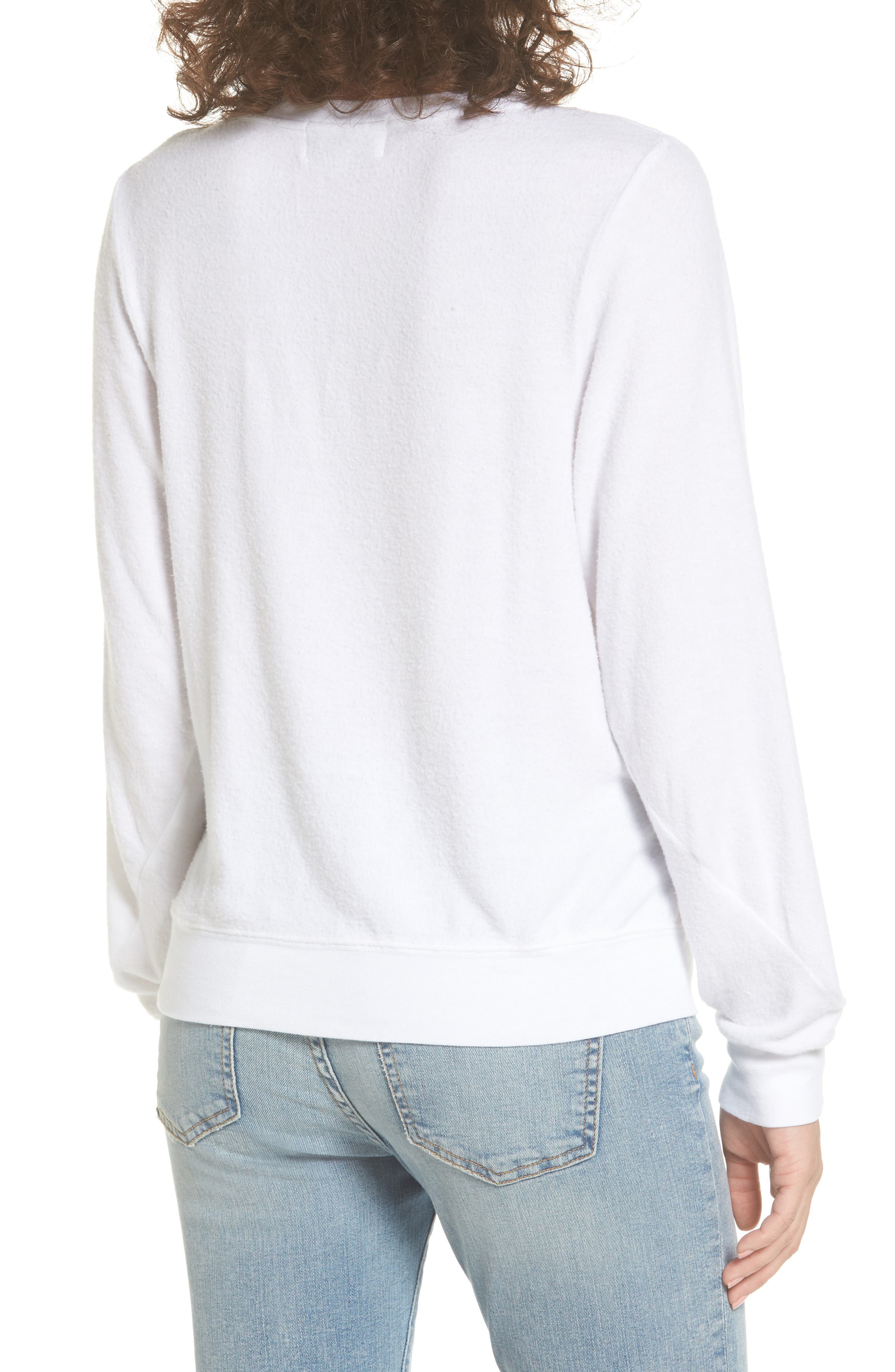 Nasty Woman Pullover,                             Alternate thumbnail 2, color,                             White