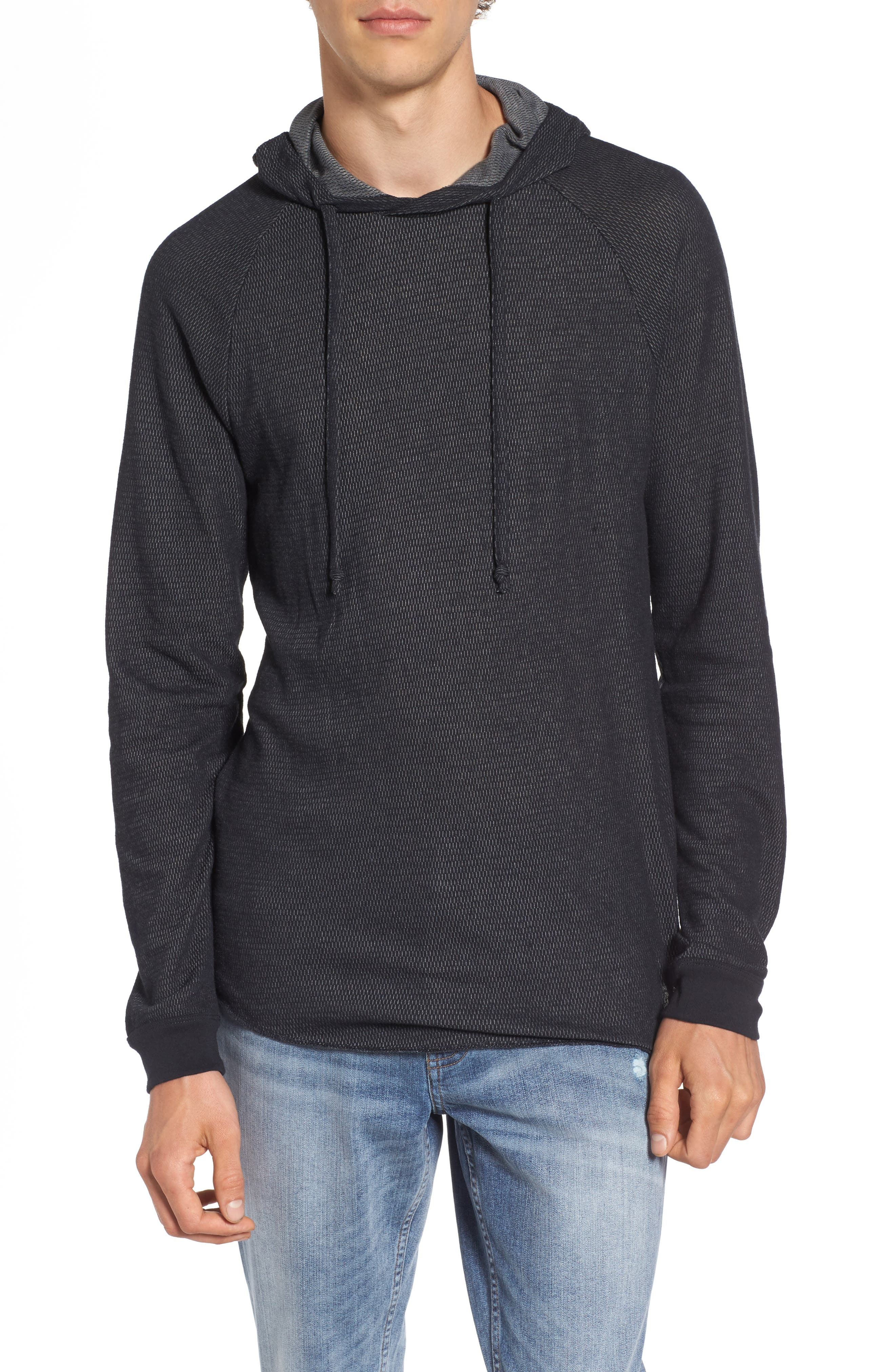 The Rail Thermal Knit Raglan Hoodie