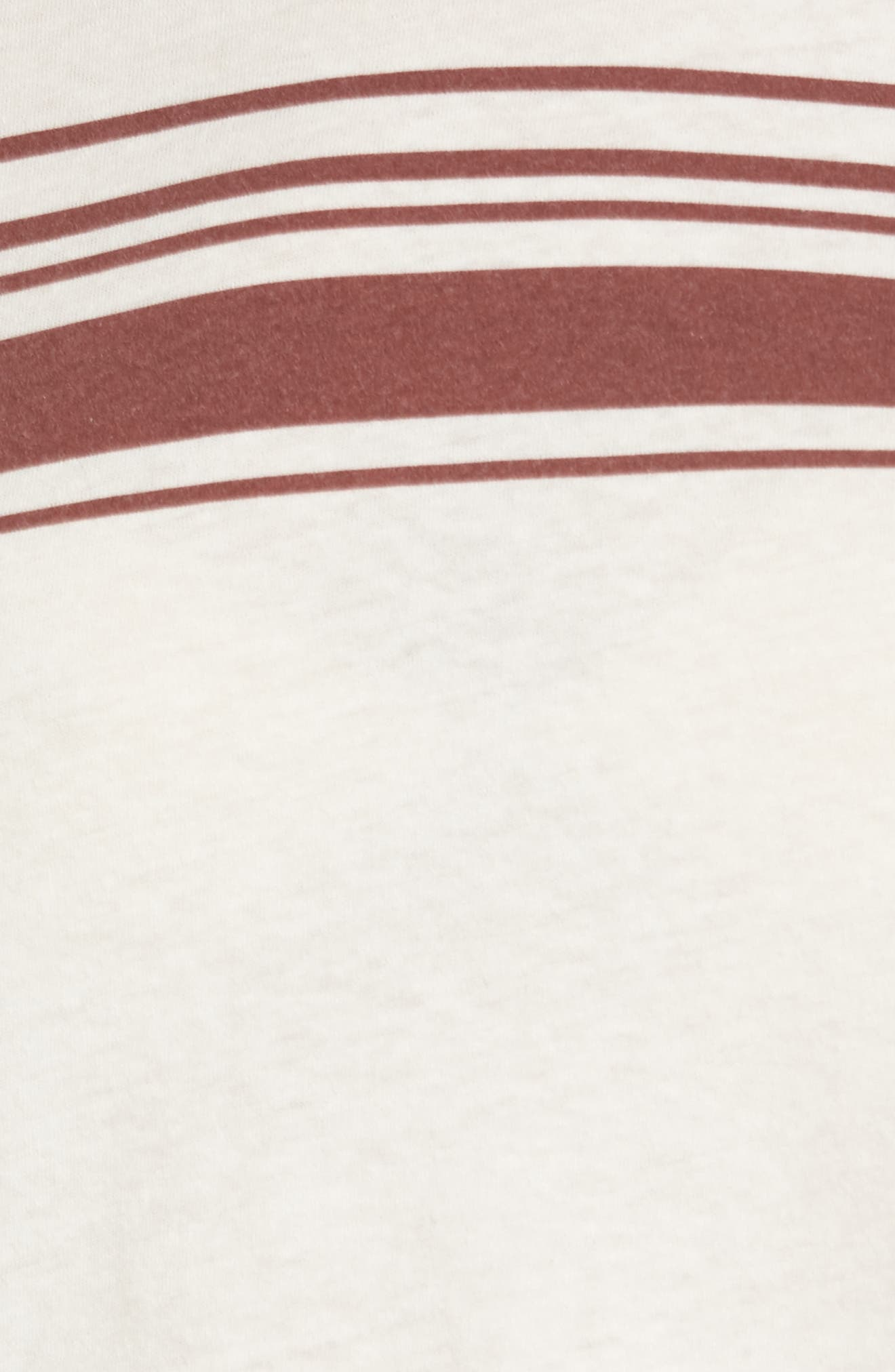 Alternate Image 5  - RVCA Stripe Ringer Tee