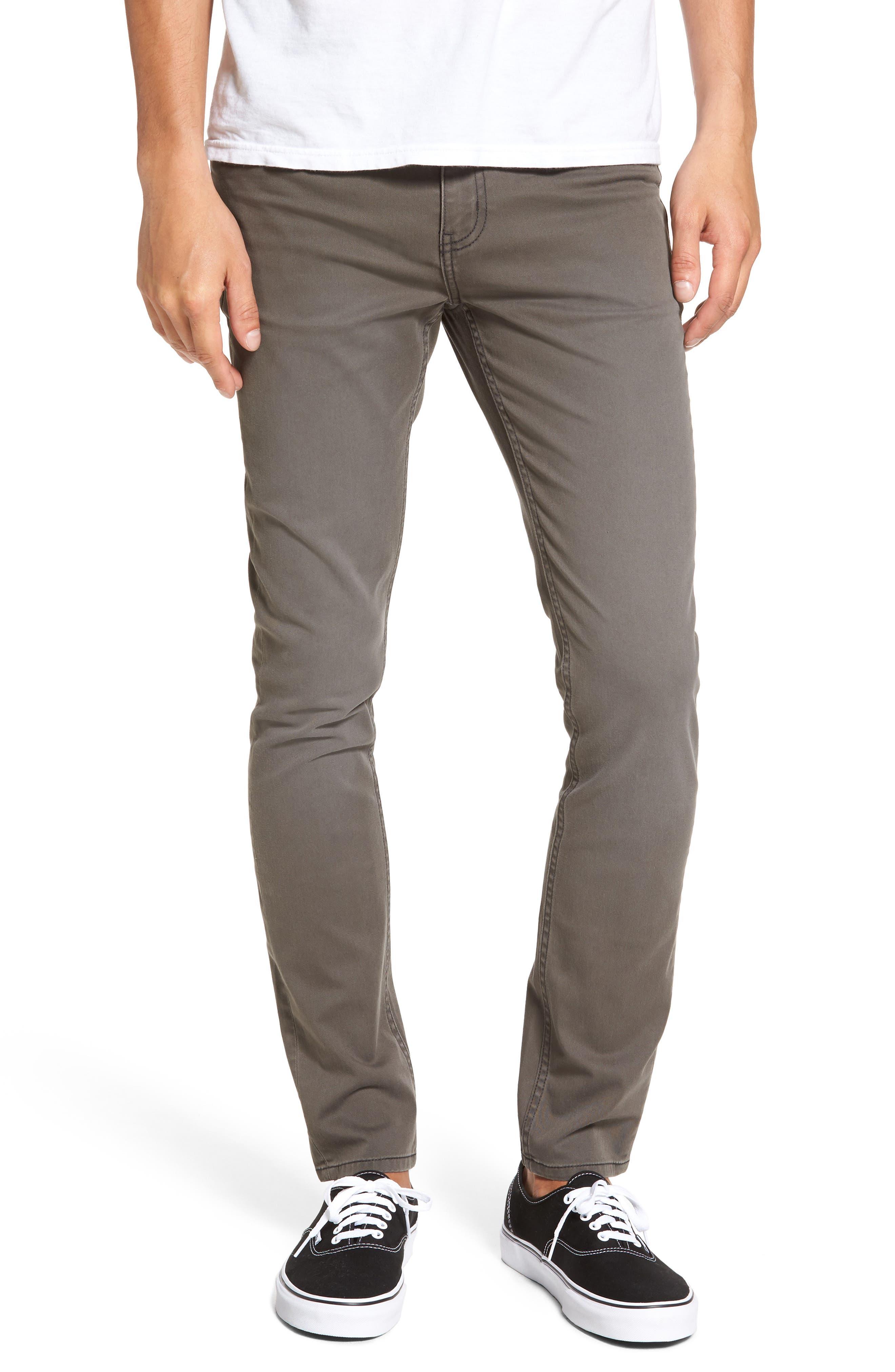 Main Image - Cheap Monday Tight Skinny Fit Jeans (Paper Khaki)