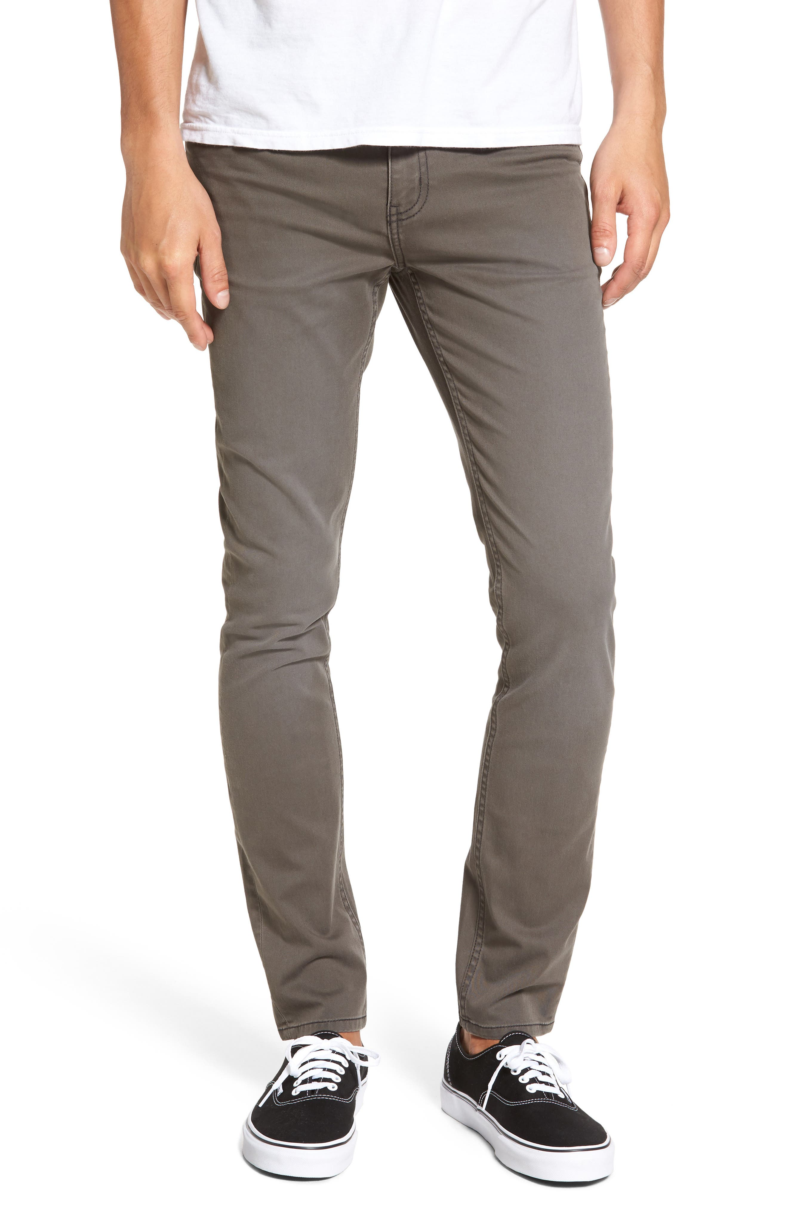 Tight Skinny Fit Jeans,                         Main,                         color, Paper Khaki