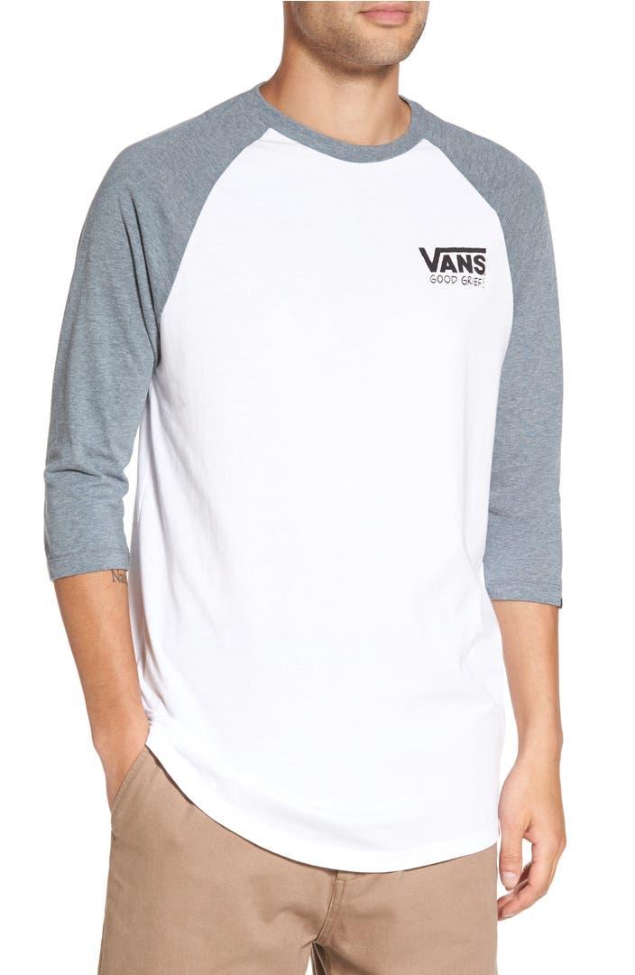 Vans X Peanuts Graphic Raglan T Shirt Nordstrom