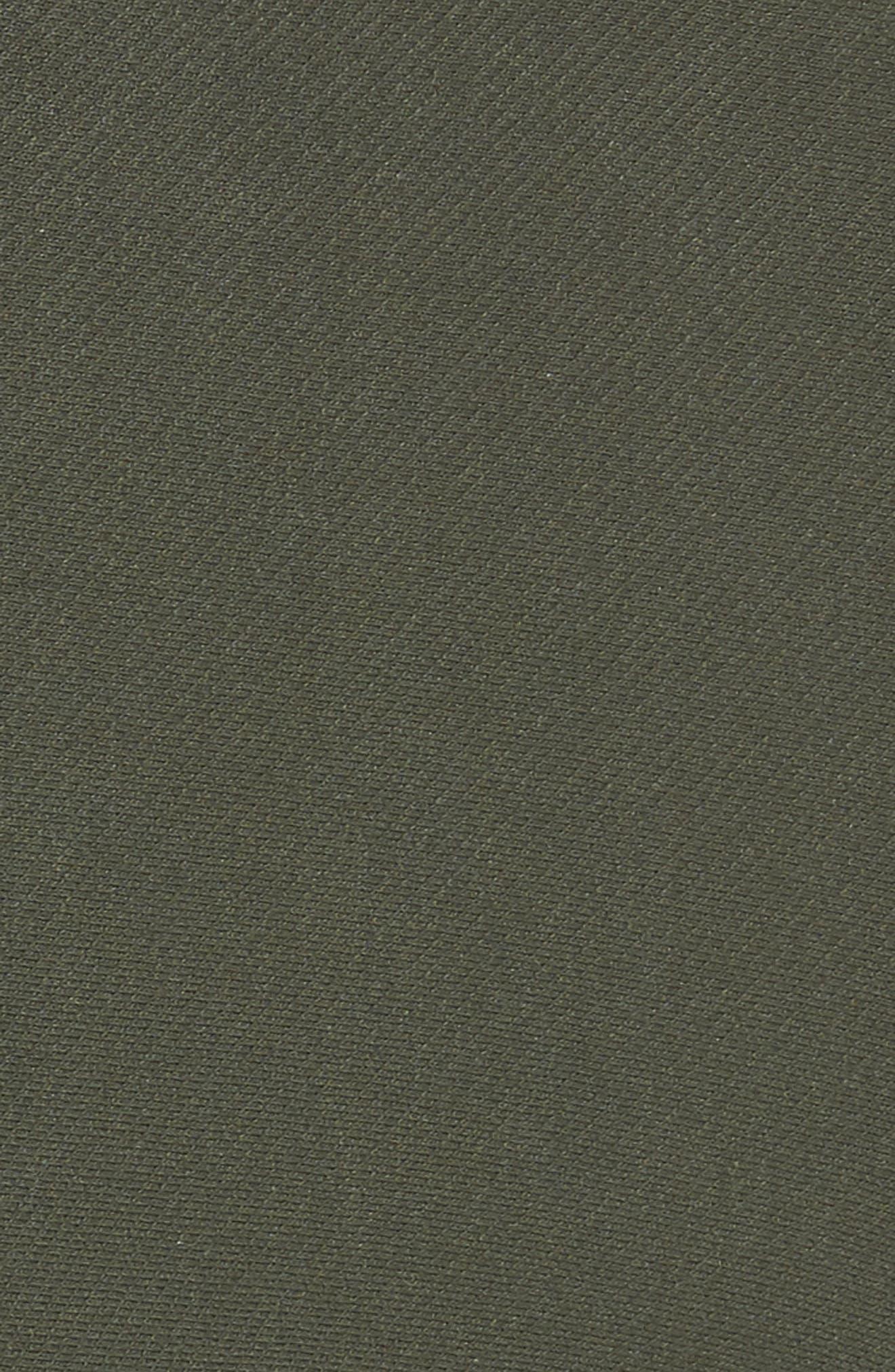 Essential Denim Moto Leggings,                             Alternate thumbnail 6, color,                             Olive