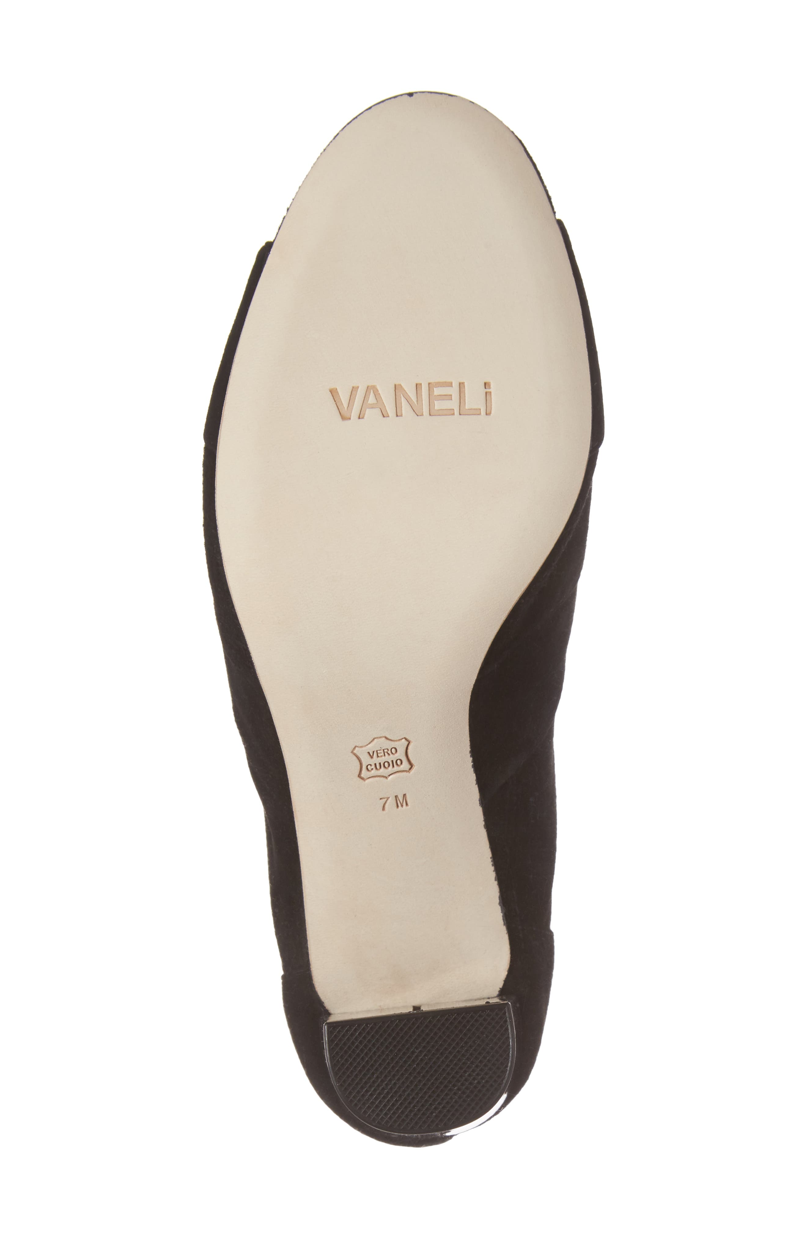 Alternate Image 6  - VANELi Betsy Open Toe Bootie (Women)