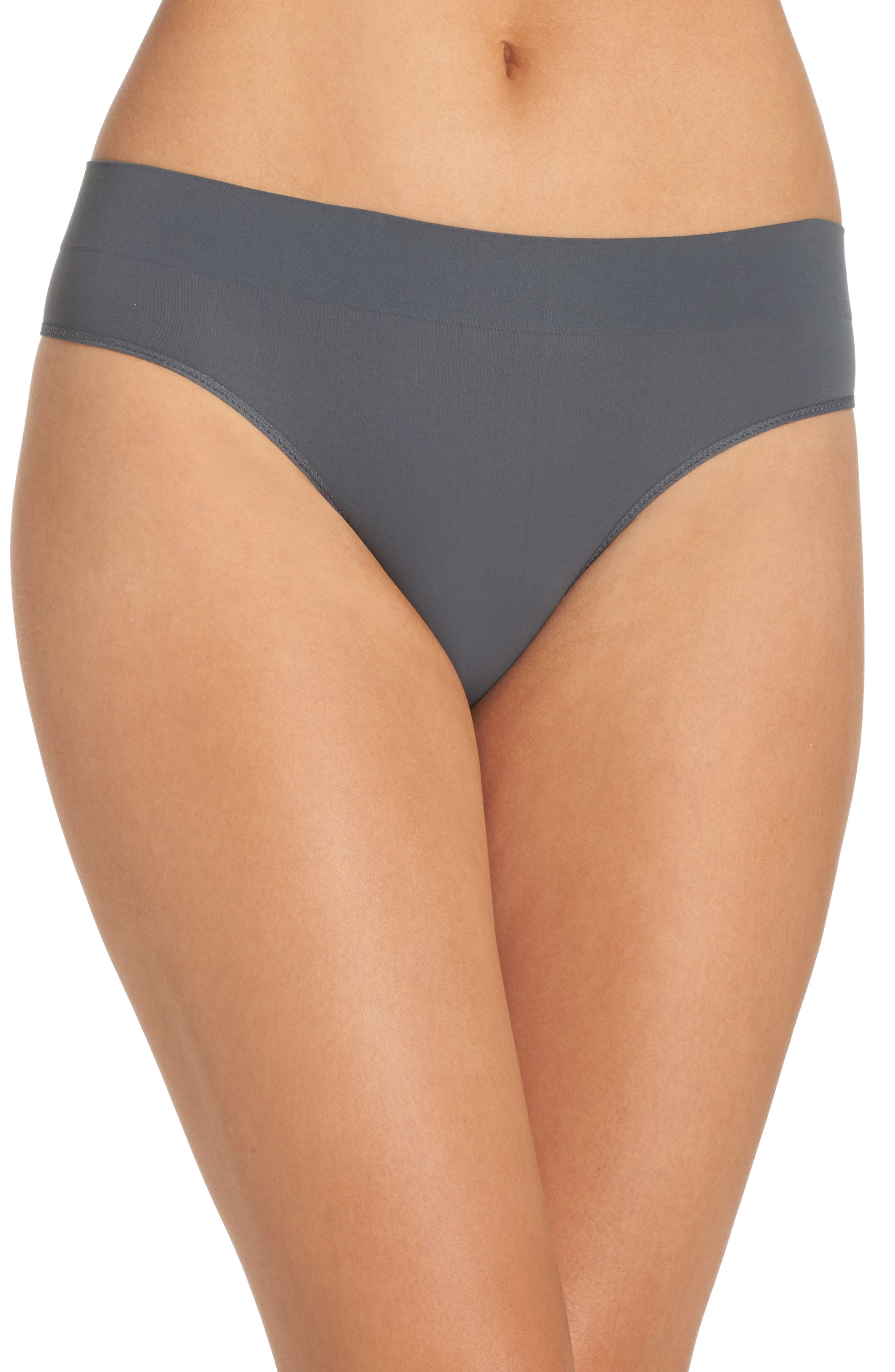 Main Image - DKNY LiteWear Seamless Thong (3 for $33)