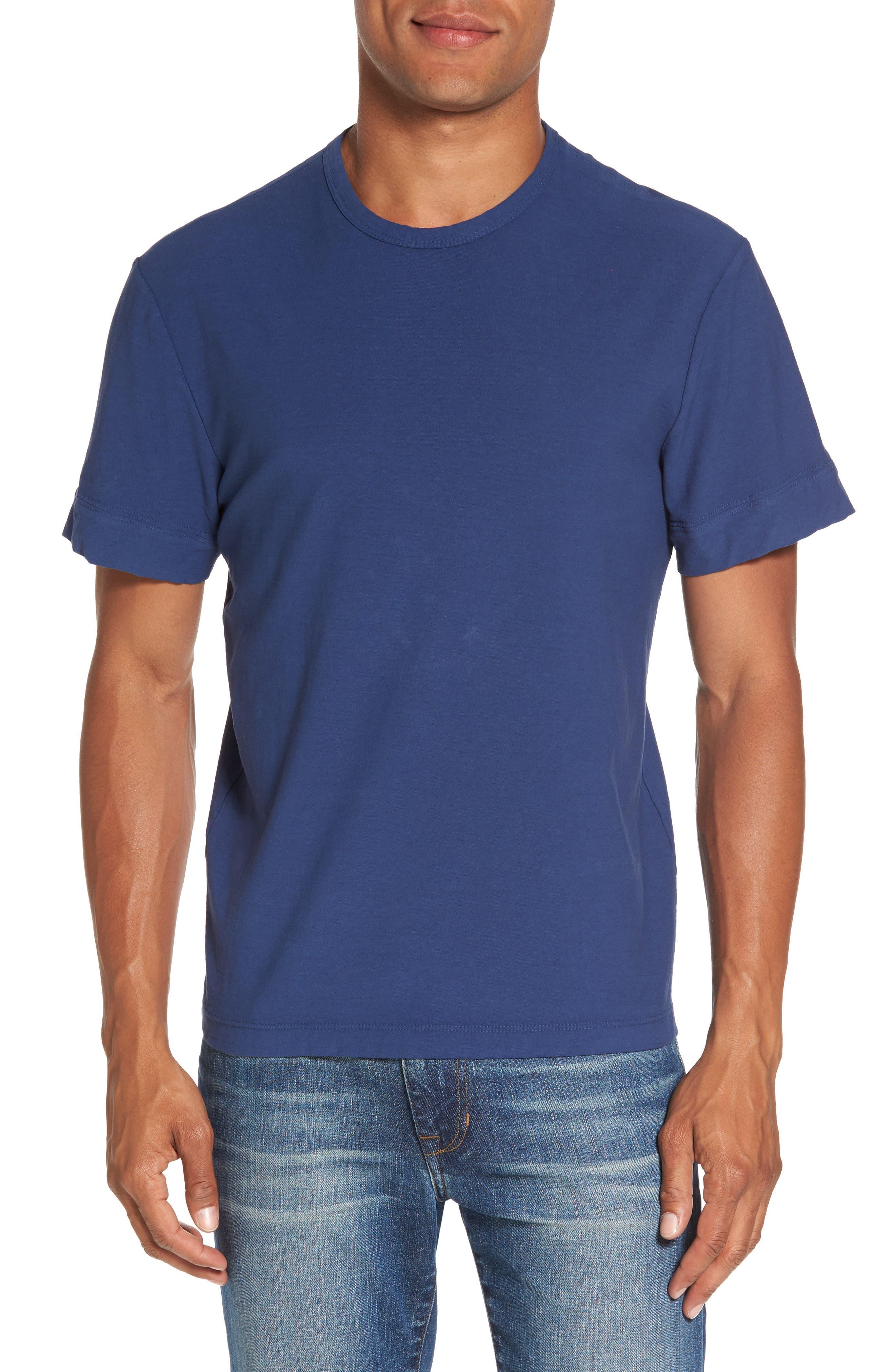 Classic Crewneck T-Shirt,                         Main,                         color, Air Force Blue