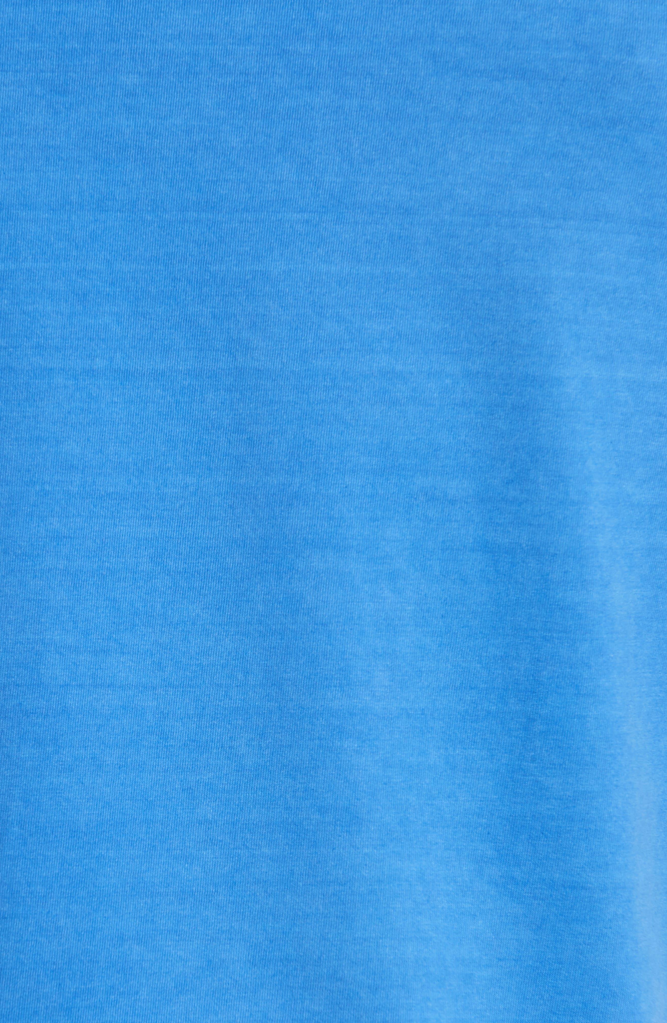 Bear Graphic T-Shirt,                             Alternate thumbnail 5, color,                             Light Blue