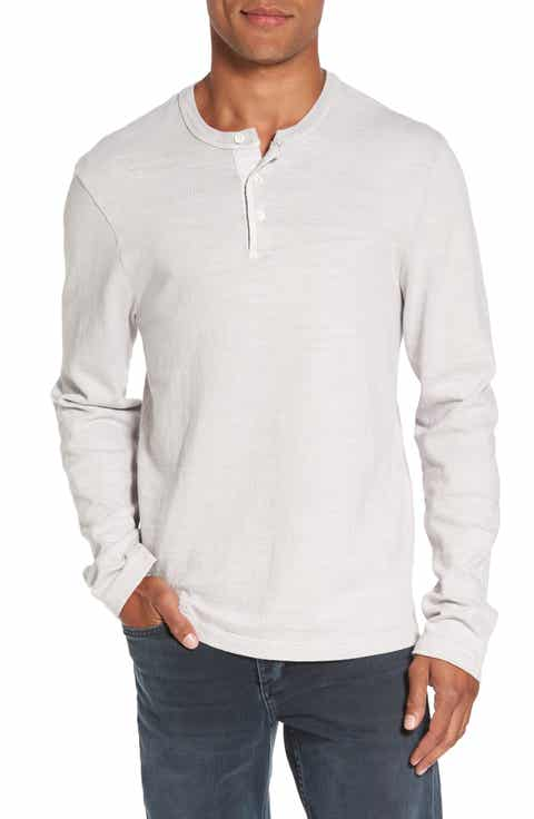 James perse women 39 s men 39 s clothing nordstrom for H m mens henley t shirt long sleeve