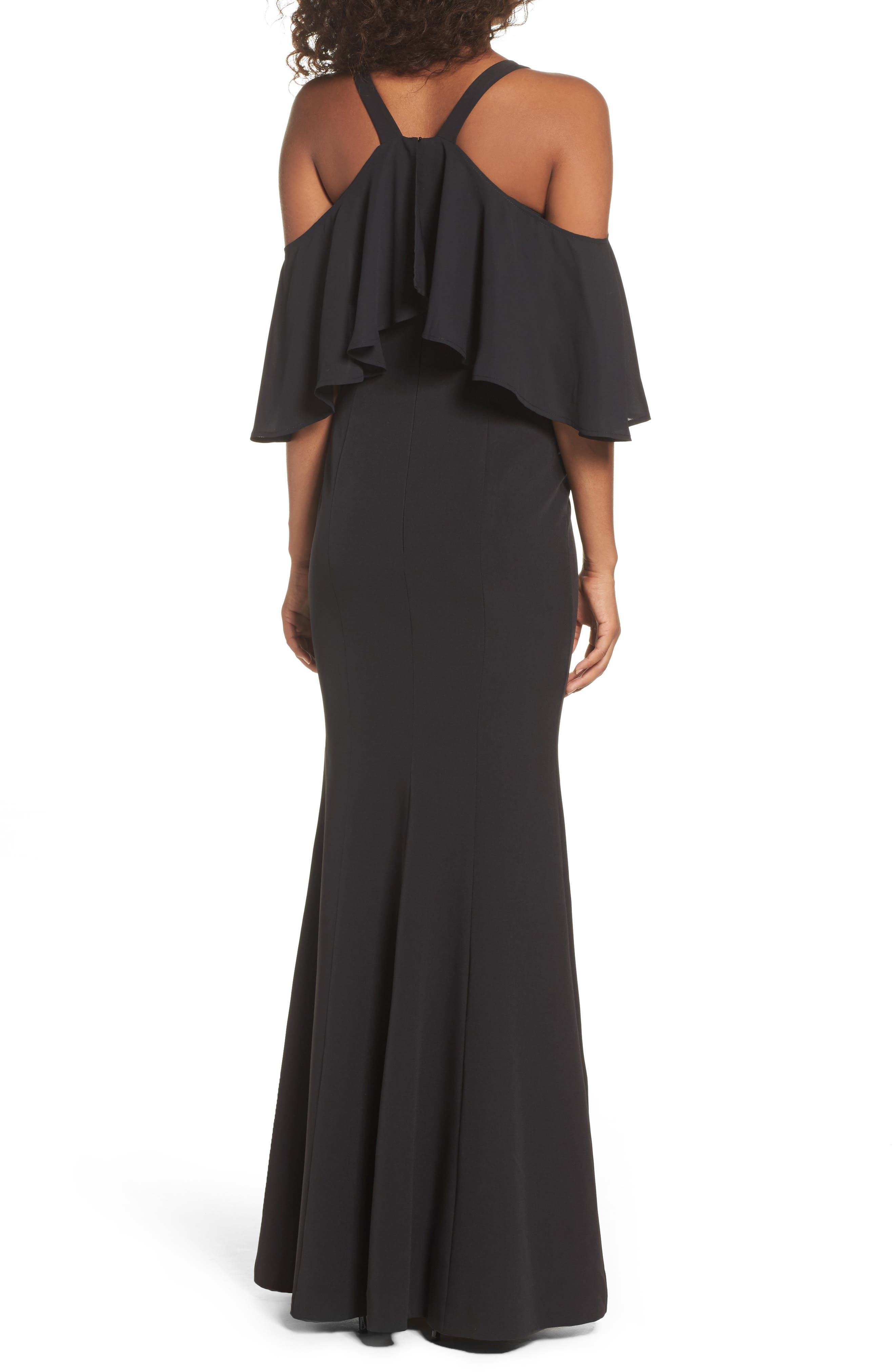 Alternate Image 2  - Jay by Jay Godfrey Naomi Cold Shoulder Gown