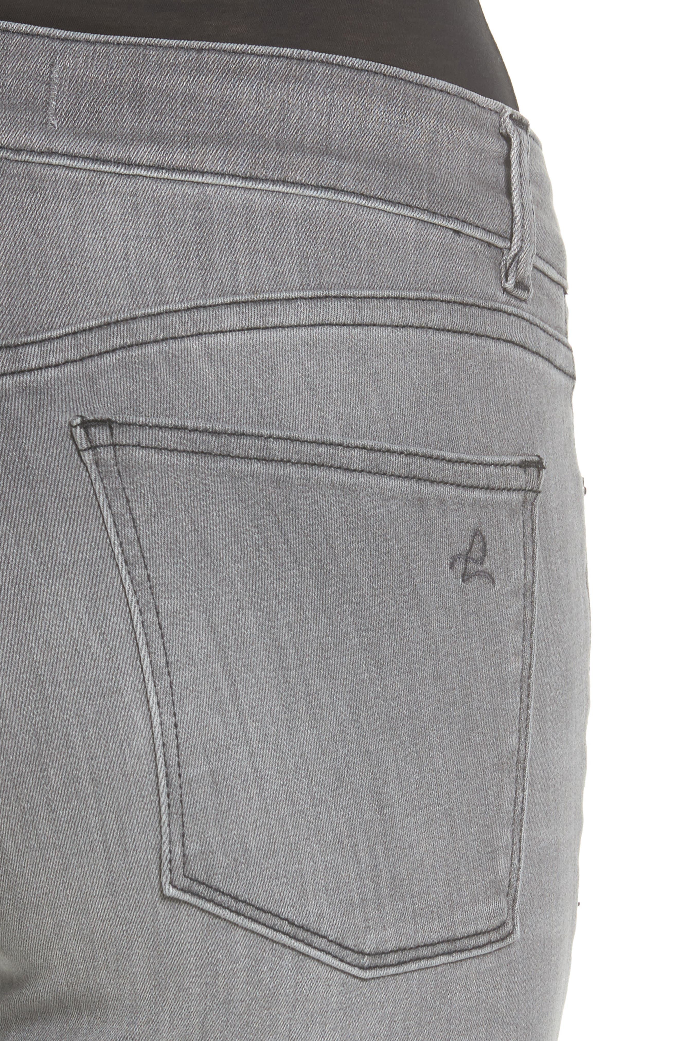 Alternate Image 4  - DL1961 Florence Skinny Jeans (Chadwick)