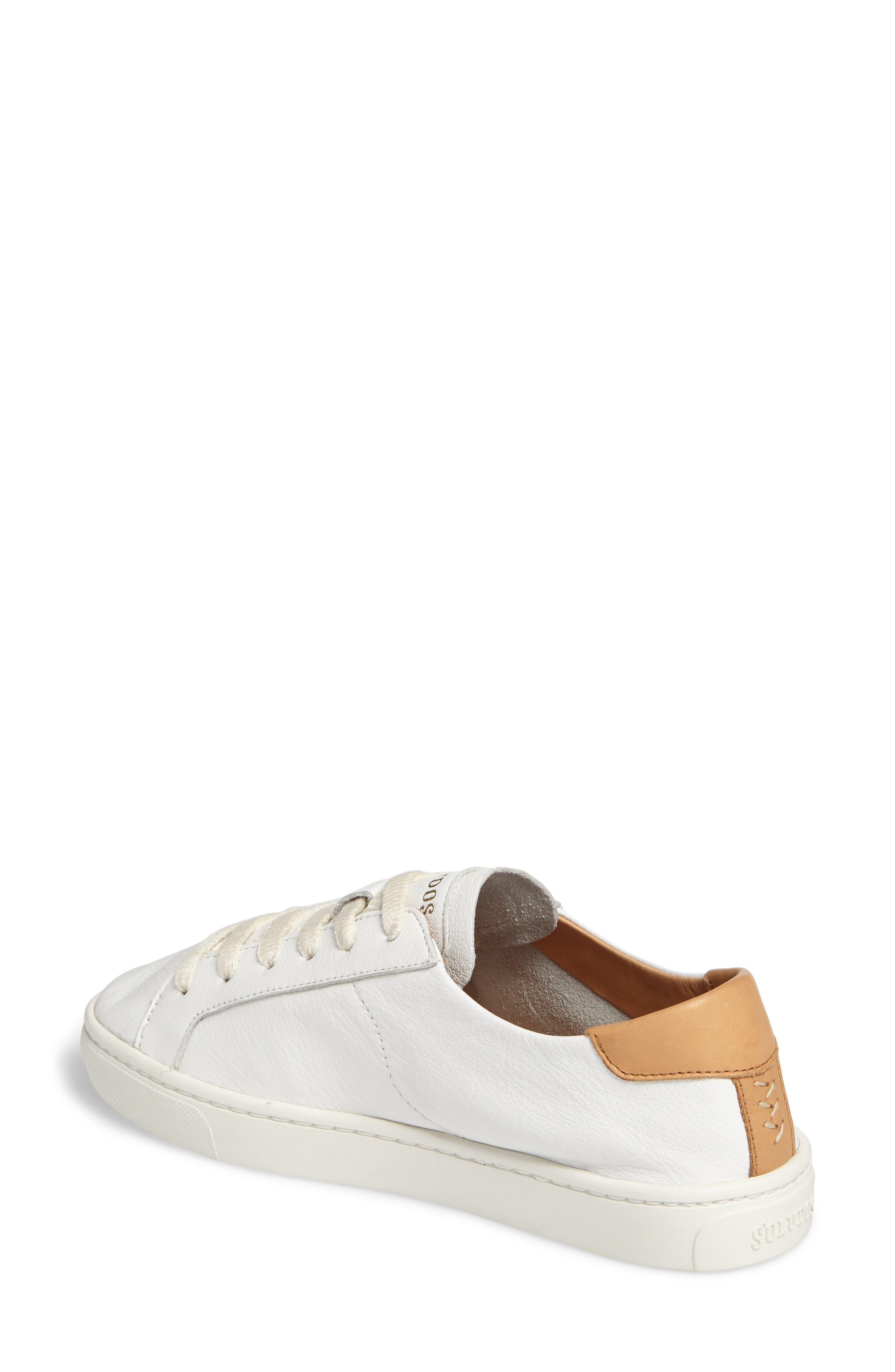 Ibiza Sneaker,                             Alternate thumbnail 2, color,                             White
