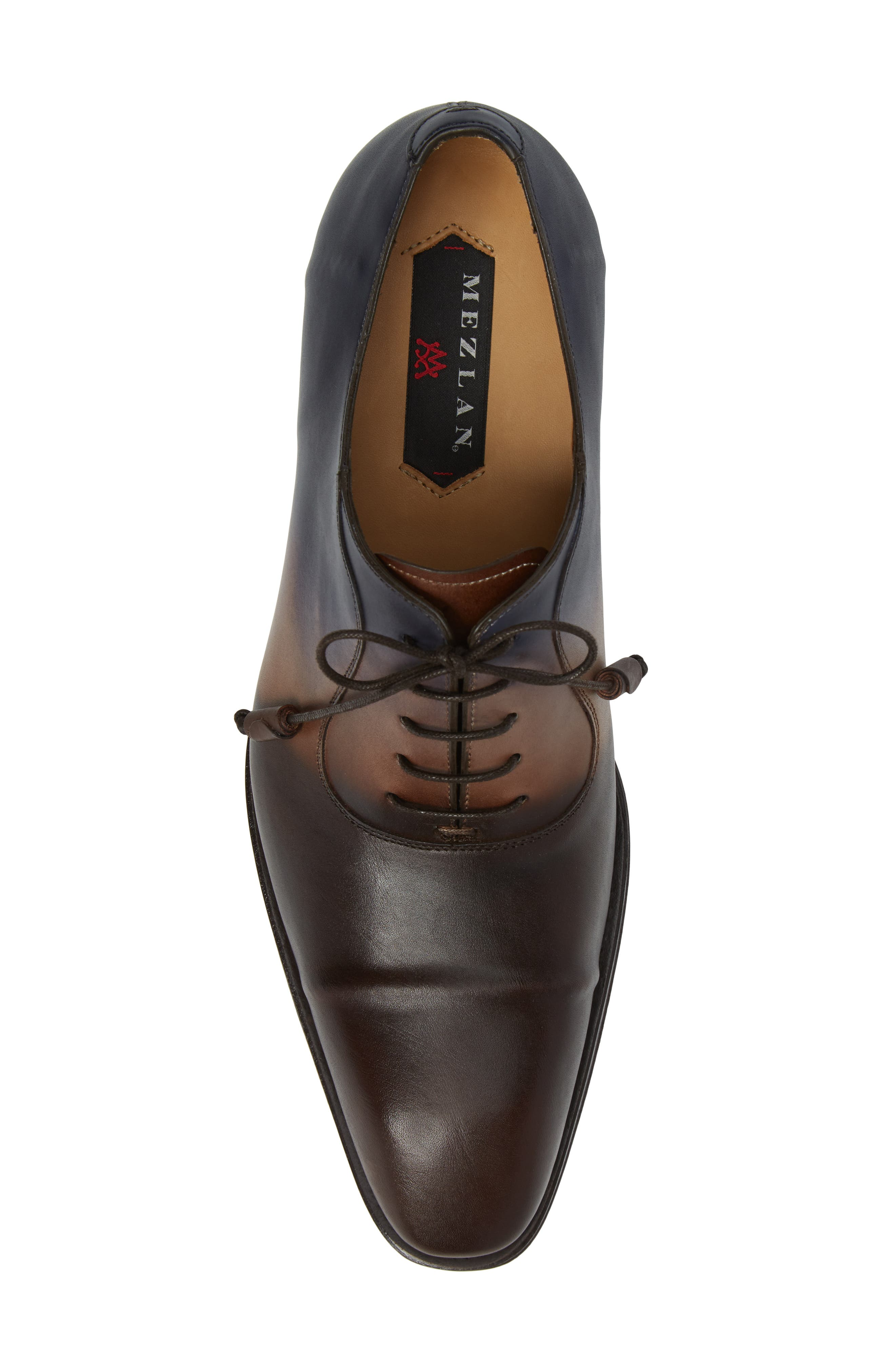 Millet Cap Toe Oxford,                             Alternate thumbnail 5, color,                             Brown Multi Leather