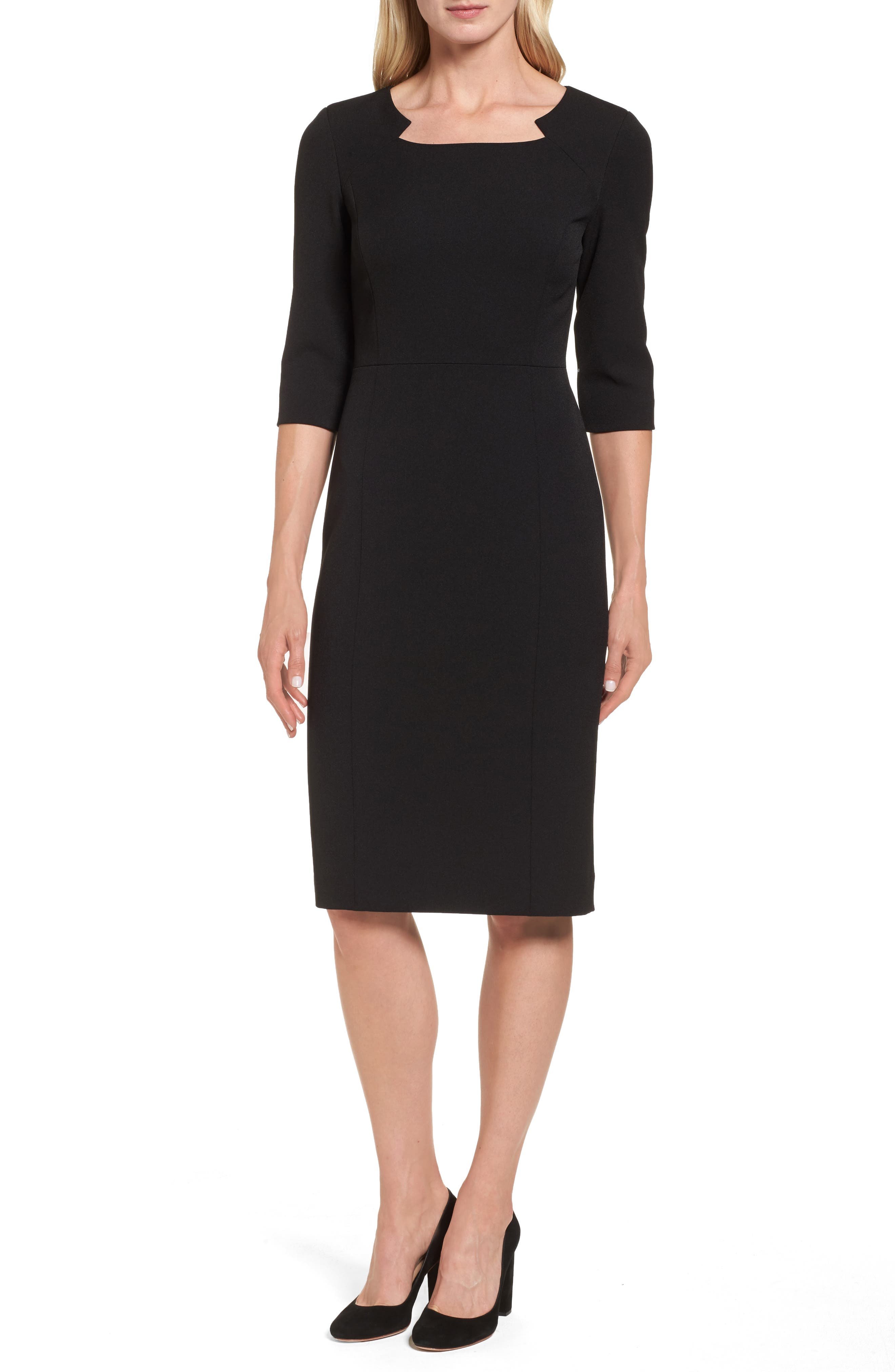 Alternate Image 1 Selected - Emerson Rose Stretch Sheath Dress