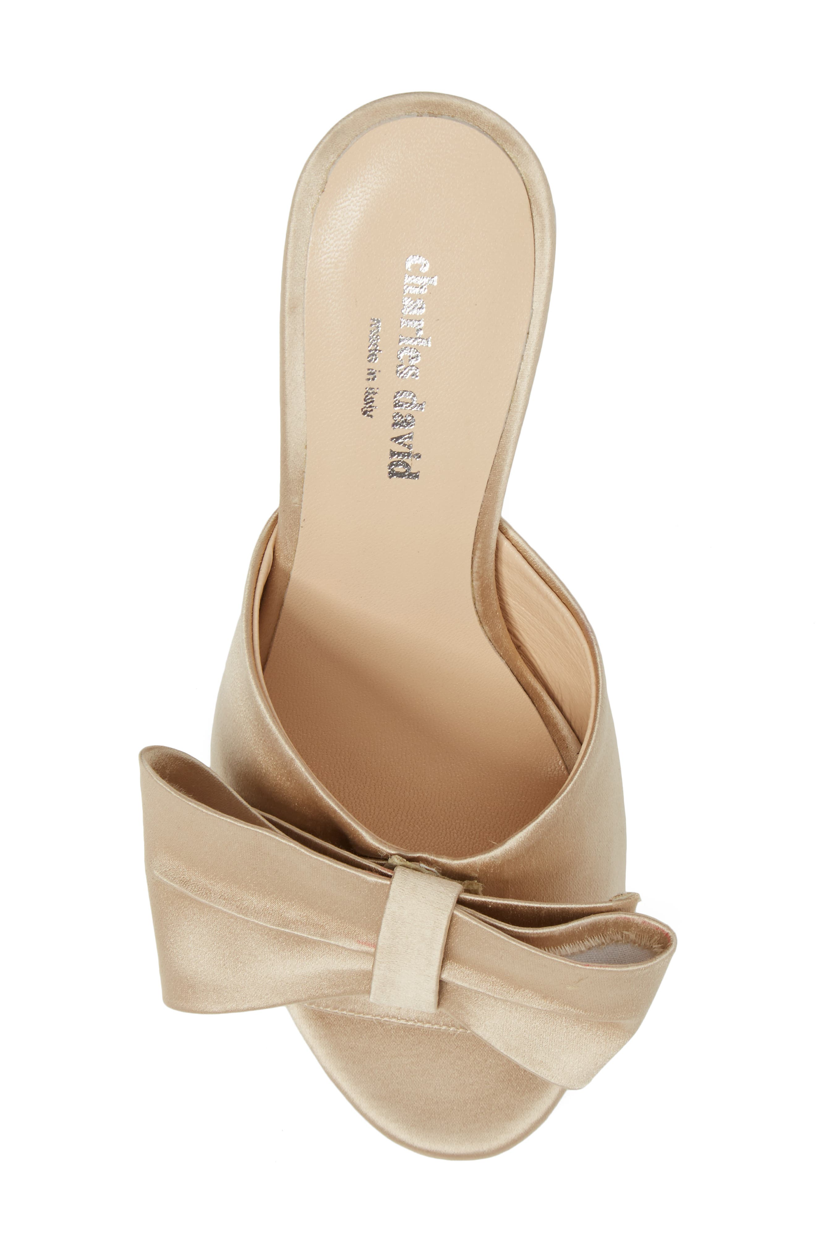 Alternate Image 5  - Charles David Sasha Asymmetrical Bow Mule (Women)