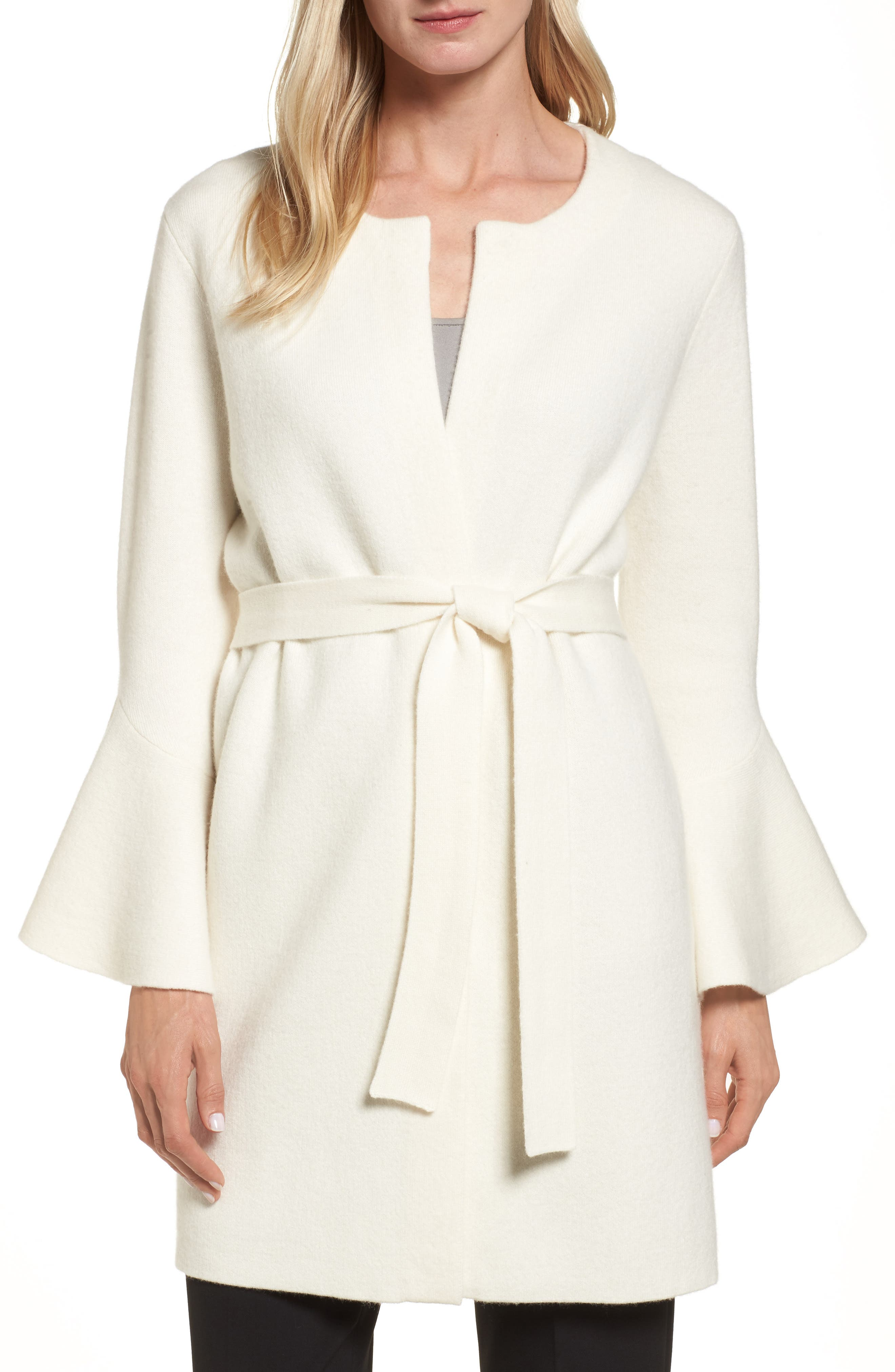 Emerson Rose Belted Cashmere Cardigan