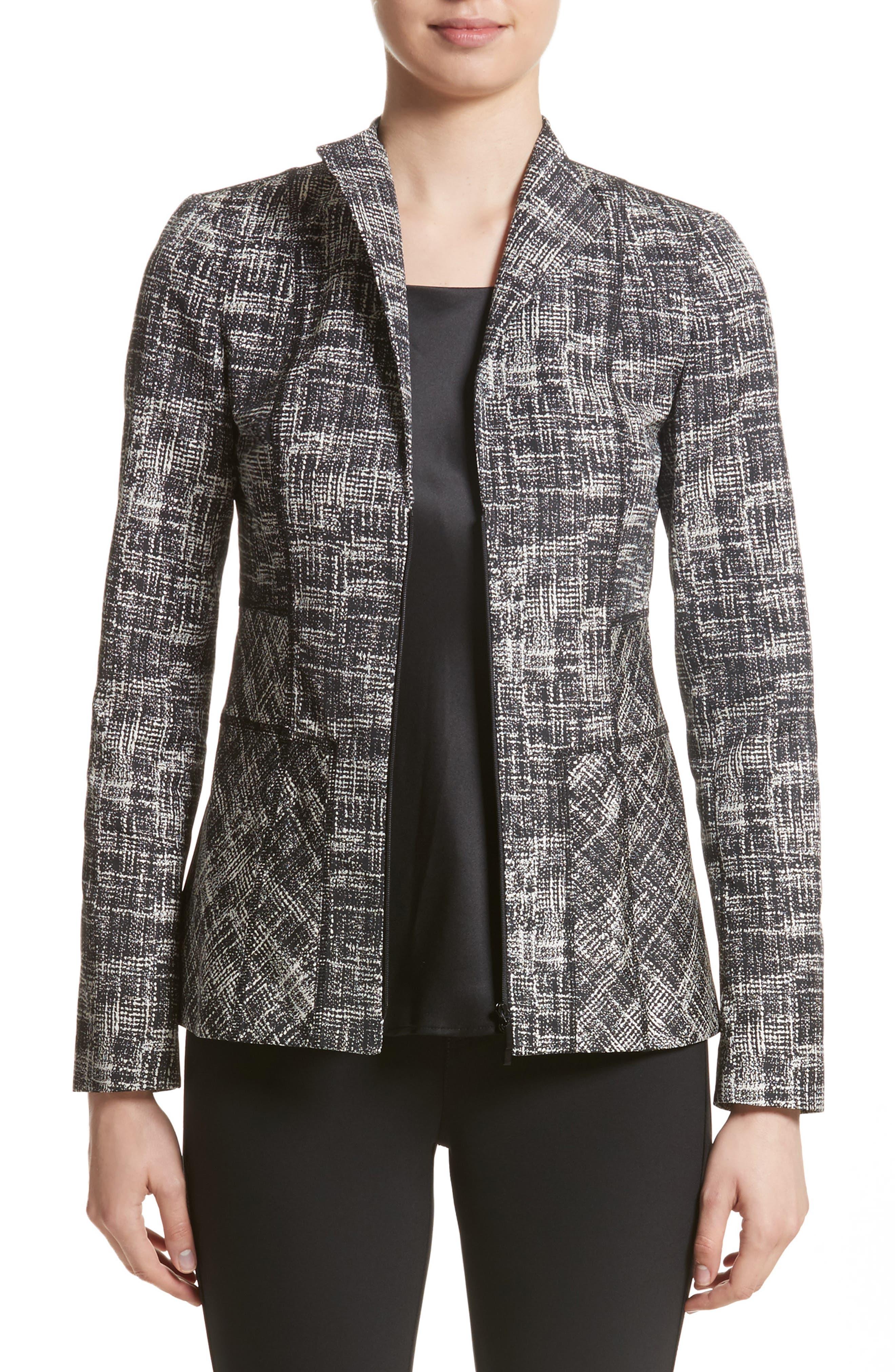 Britta Jacket,                         Main,                         color, Black Multi