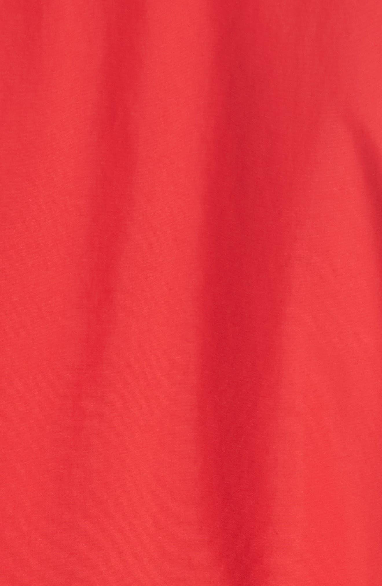 Kaneda Bomber Jacket,                             Alternate thumbnail 6, color,                             Red