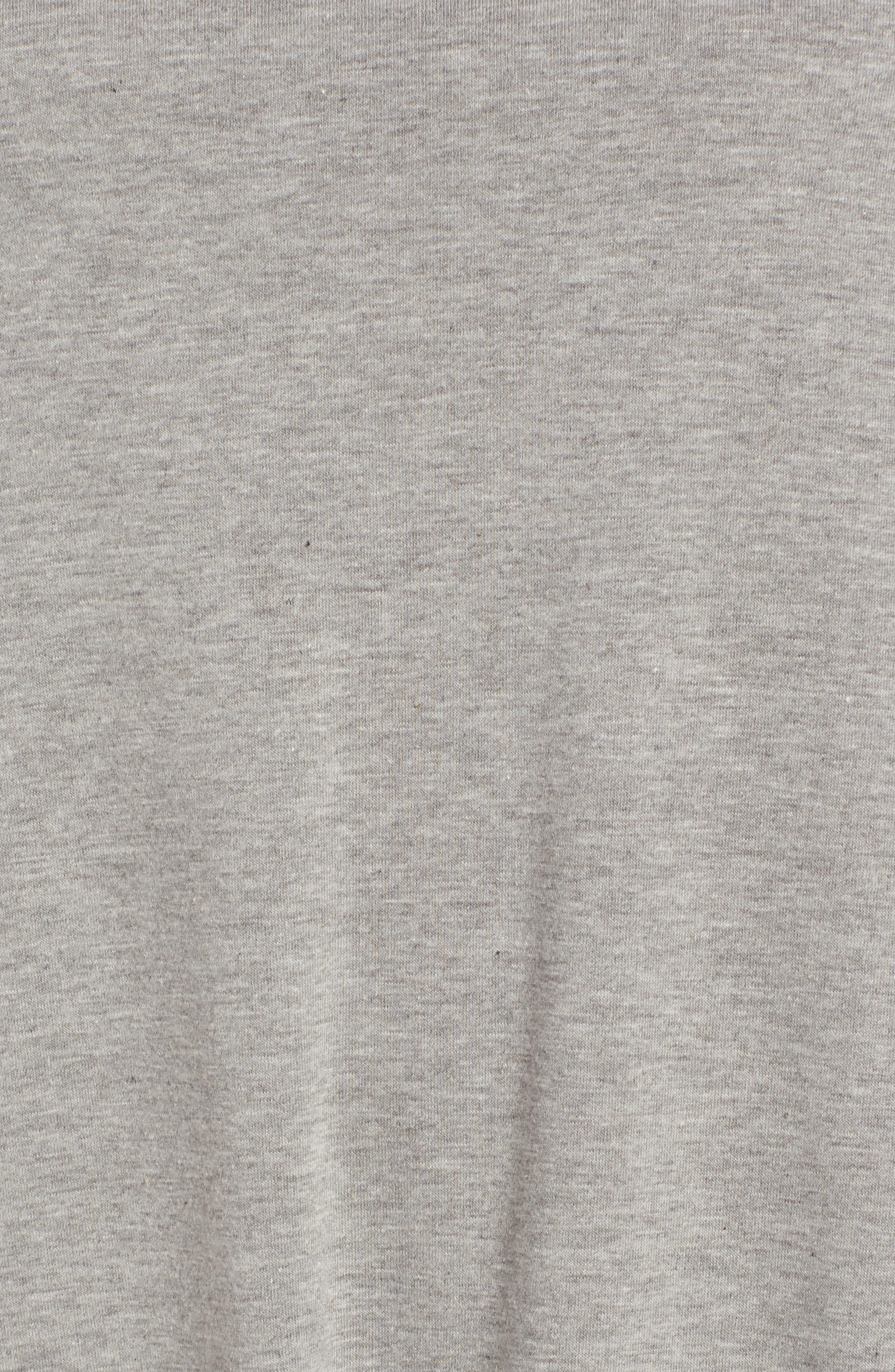 Alternate Image 5  - Cotton Emporium Ruffle Hem Knit T-Shirt Dress