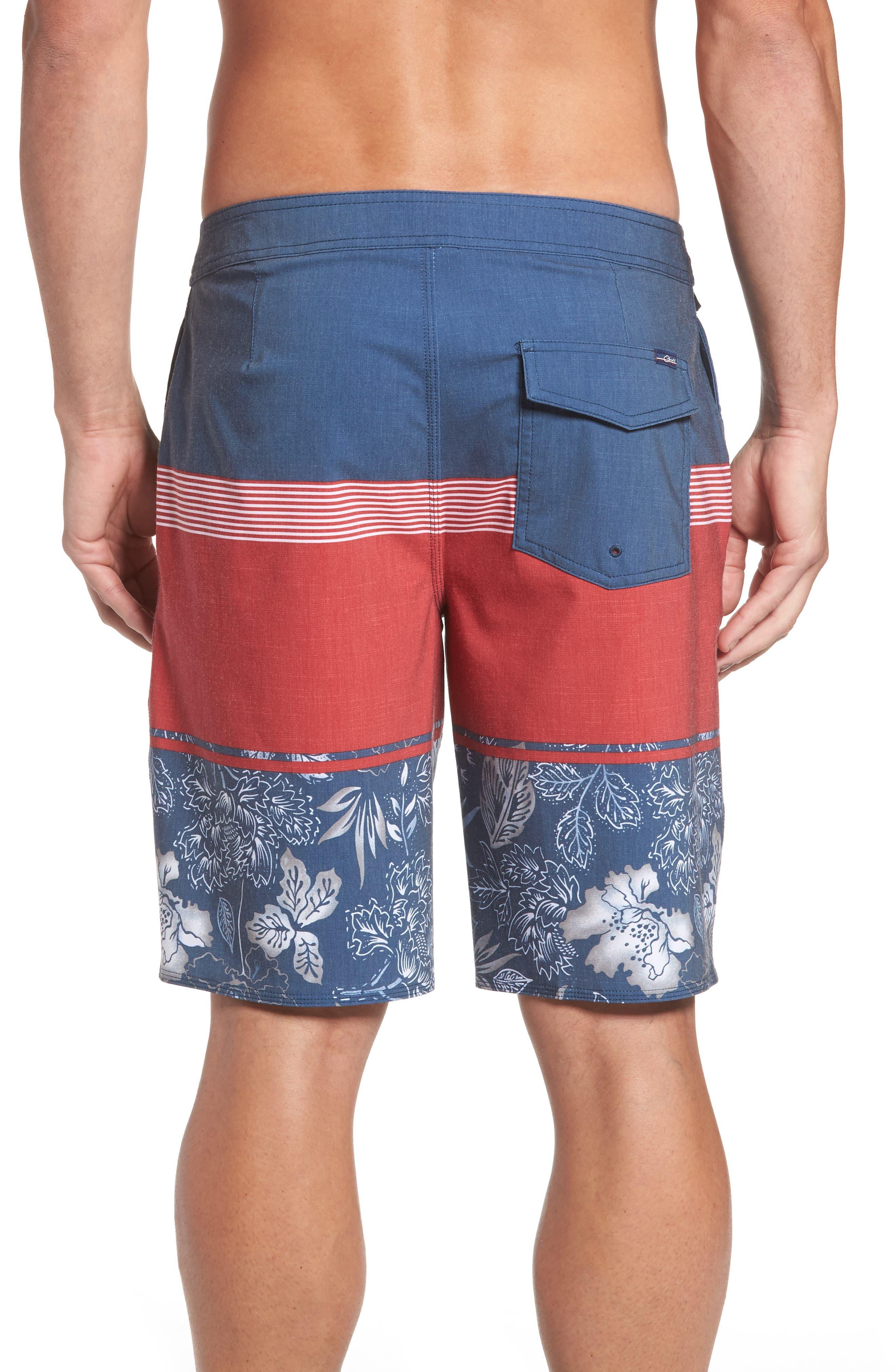 Surfside Board Shorts,                             Alternate thumbnail 2, color,                             Red