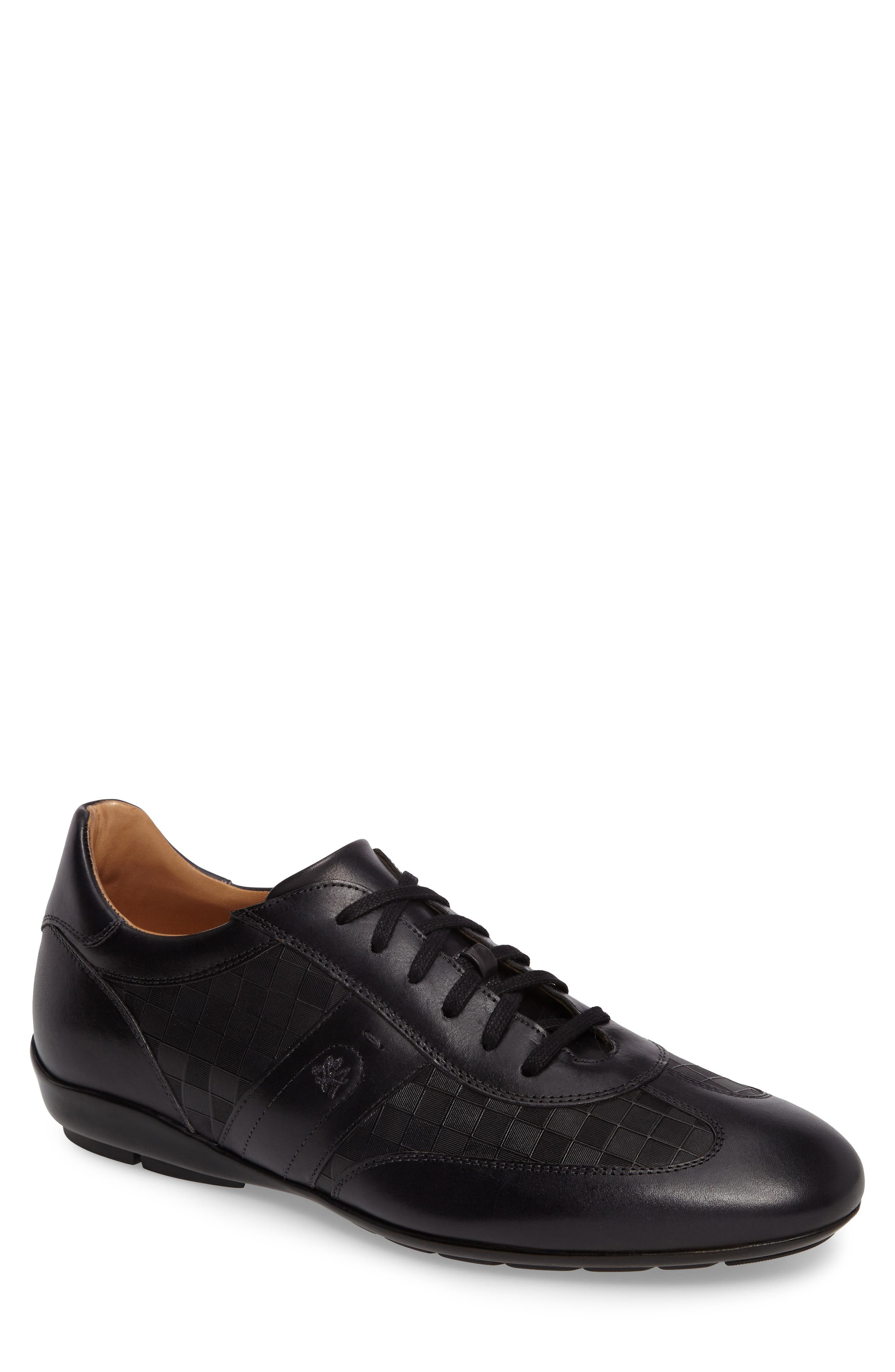 Baena Sneaker in Black Leather