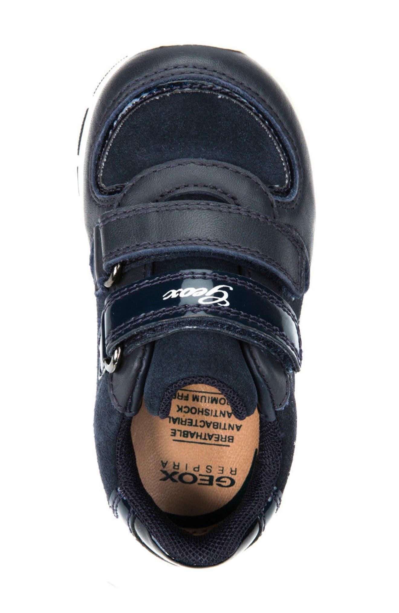 Alternate Image 5  - Geox Shaax Love Sneaker (Walker & Toddler)