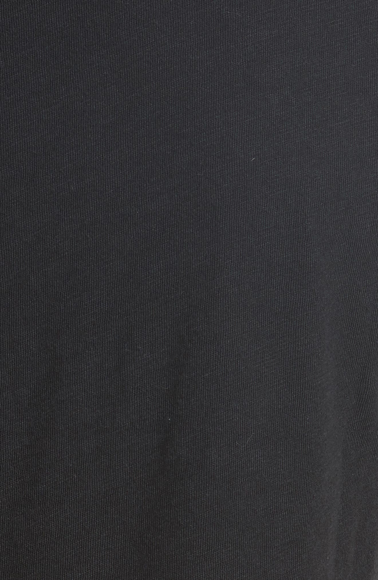 Easy Graphic Tee,                             Alternate thumbnail 5, color,                             Black