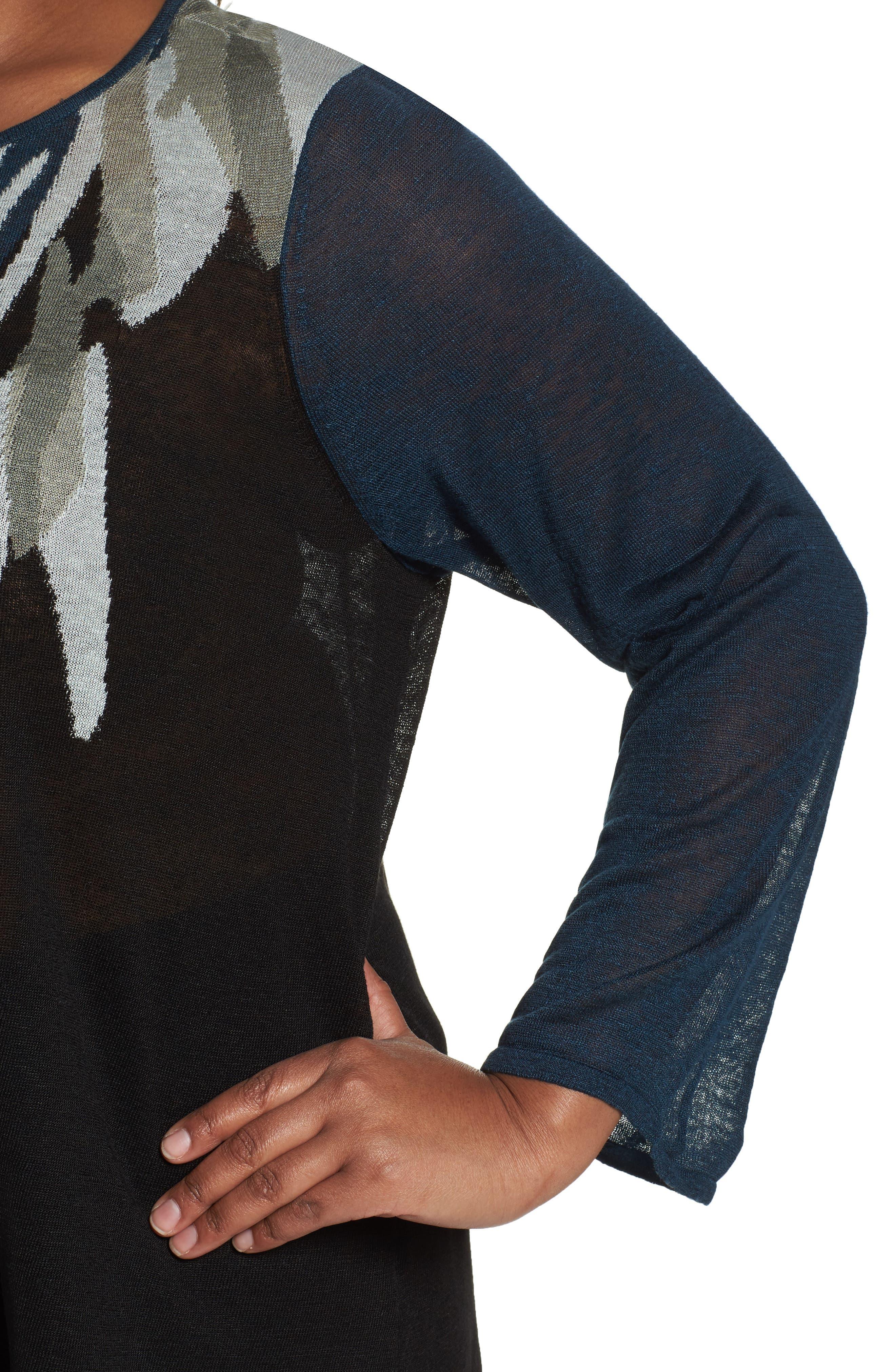 Wild Thyme Sweater,                             Alternate thumbnail 4, color,                             Multi