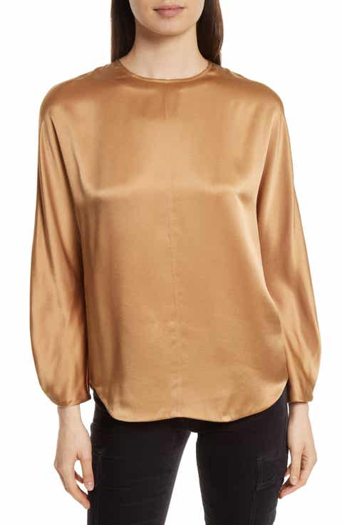 Women 39 s vince long sleeve tops tees nordstrom for Vince tee shirts sale
