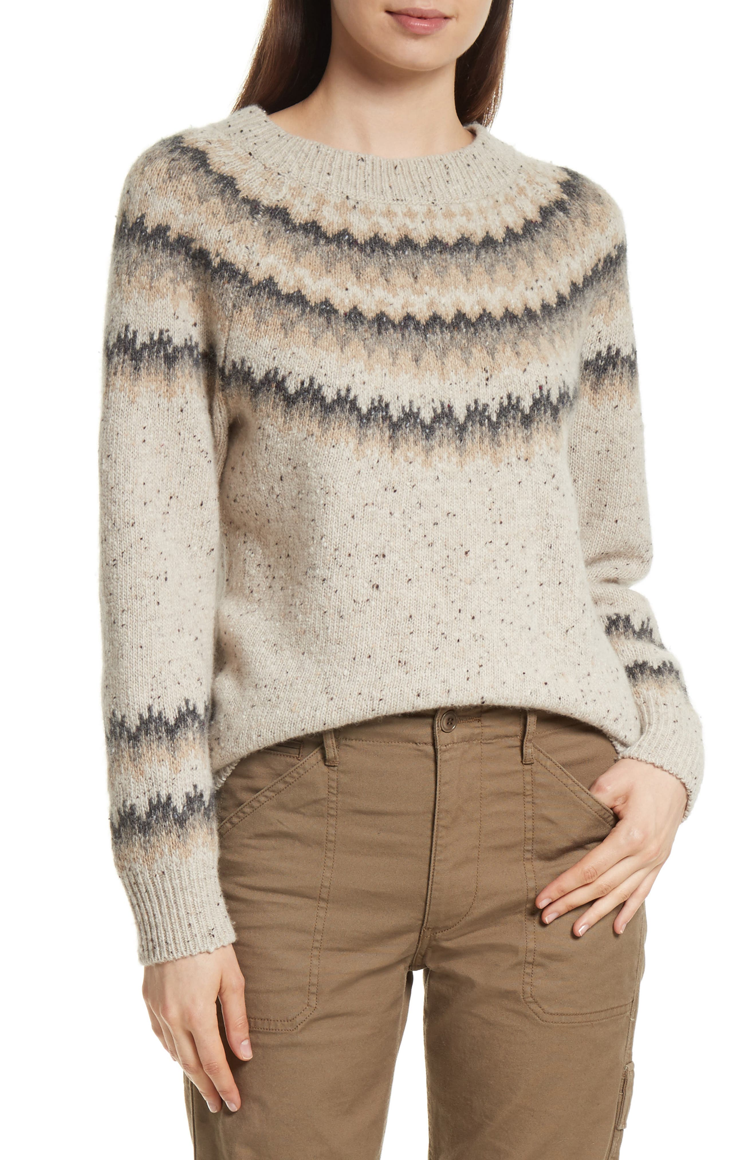 Vince Fair Isle Cashmere Sweater | Nordstrom