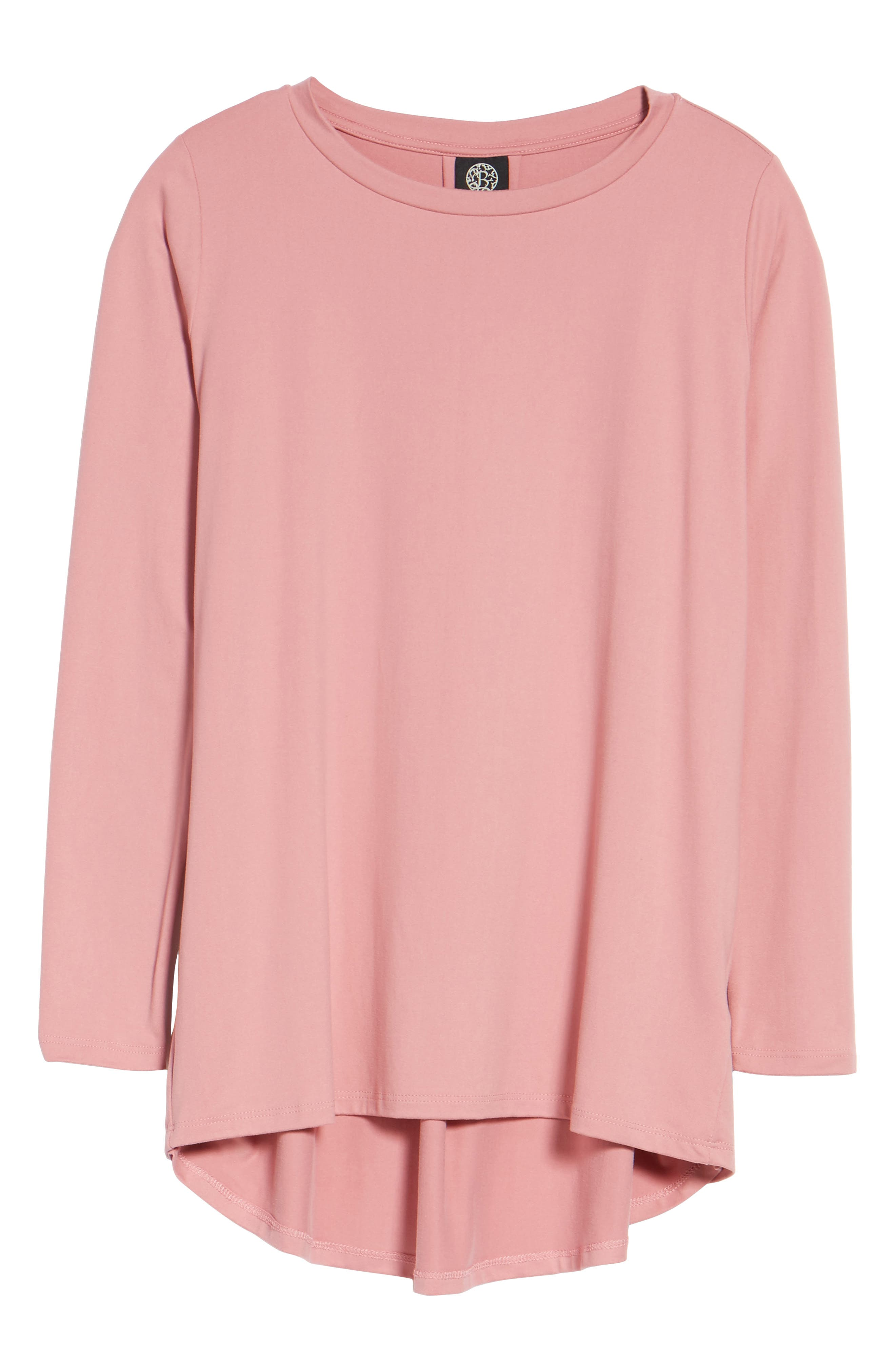 Butter High/Low Top,                             Alternate thumbnail 7, color,                             Blush