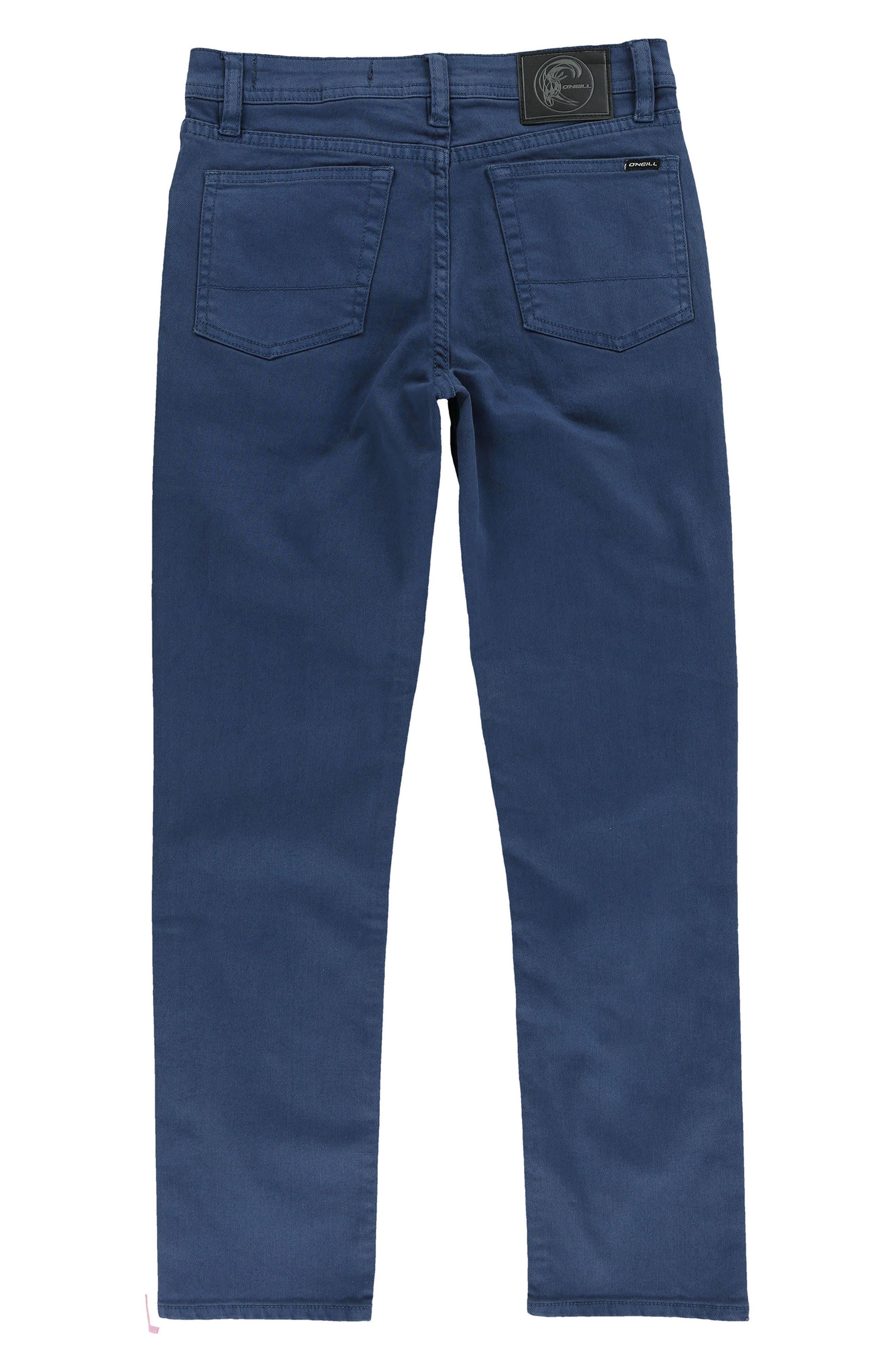Alternate Image 2  - O'Neill The Slim Twill Pants (Big Boys)
