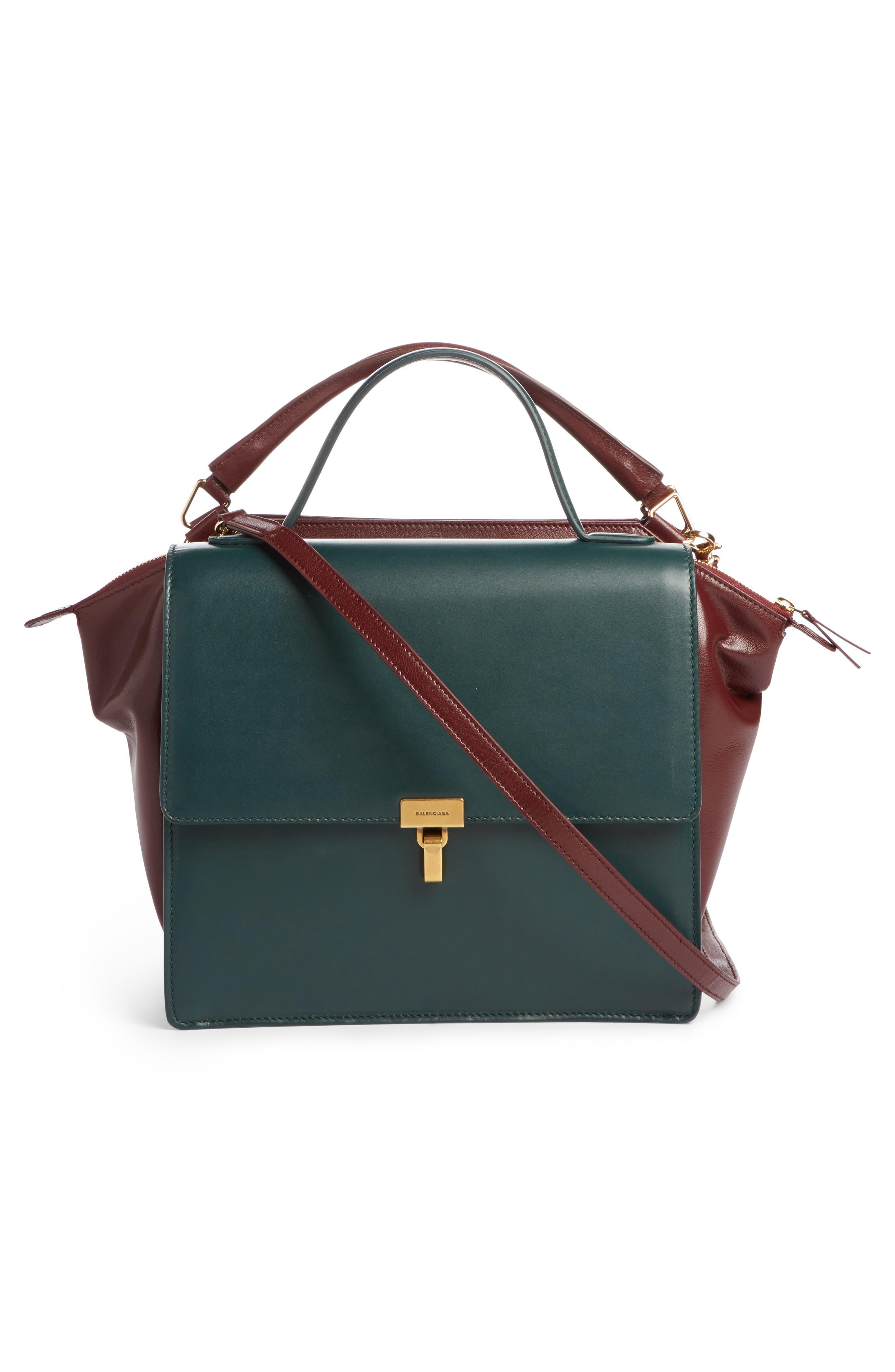 Alternate Image 5  - Balenciaga Collage Double Calfskin Leather Bag