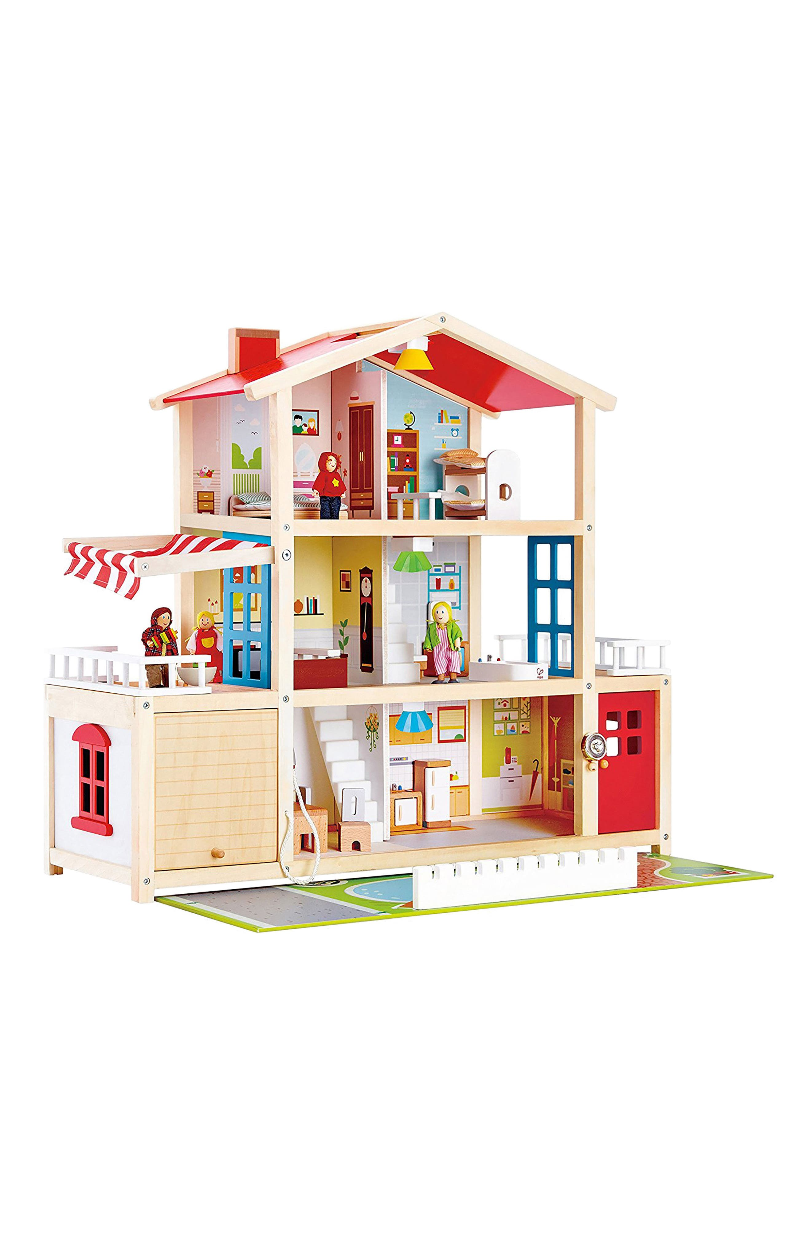 Doll Family Mansion,                         Main,                         color, Multi