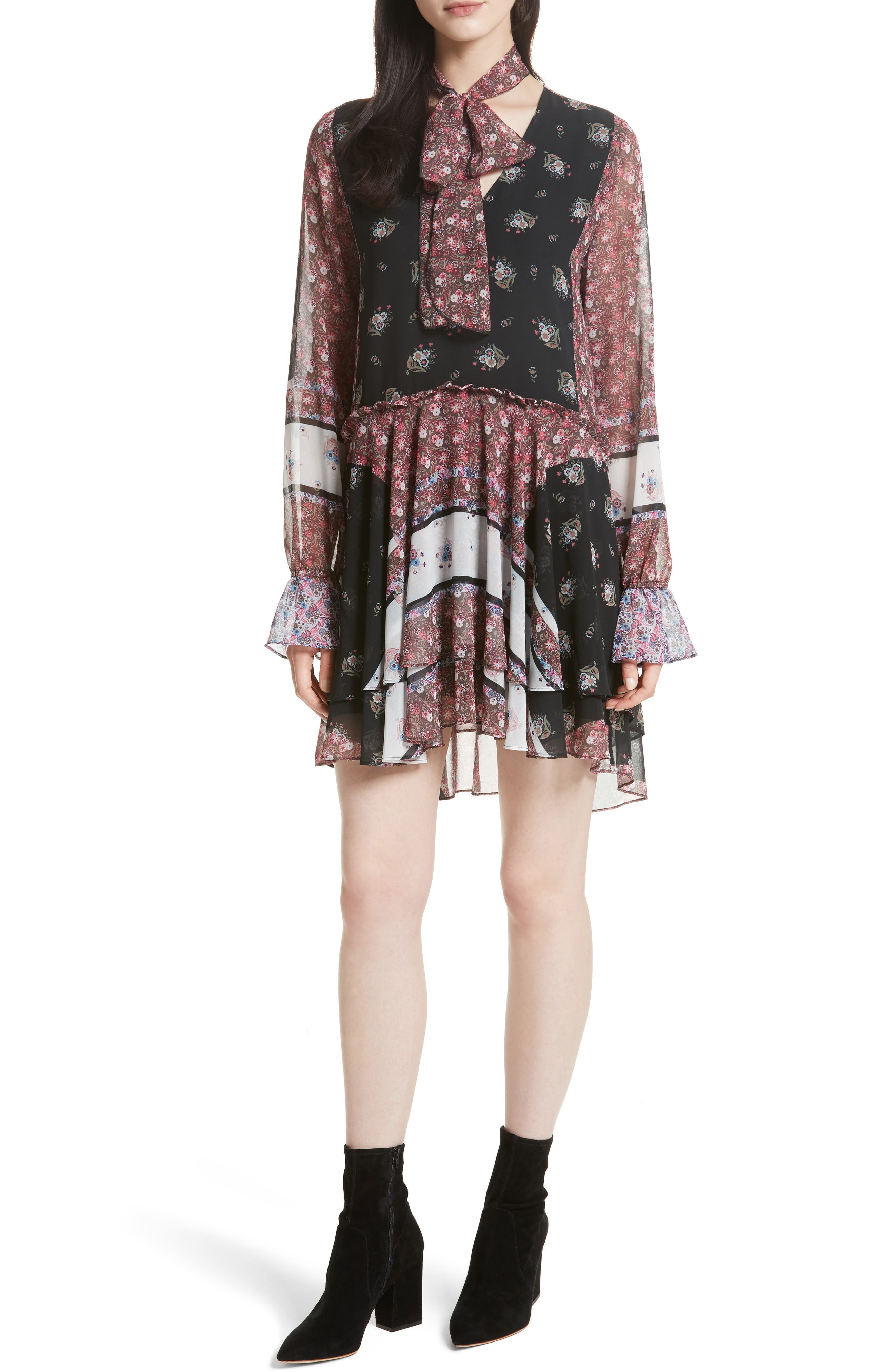 Main Image - Rebecca Minkoff Fiona Print Shift Dress