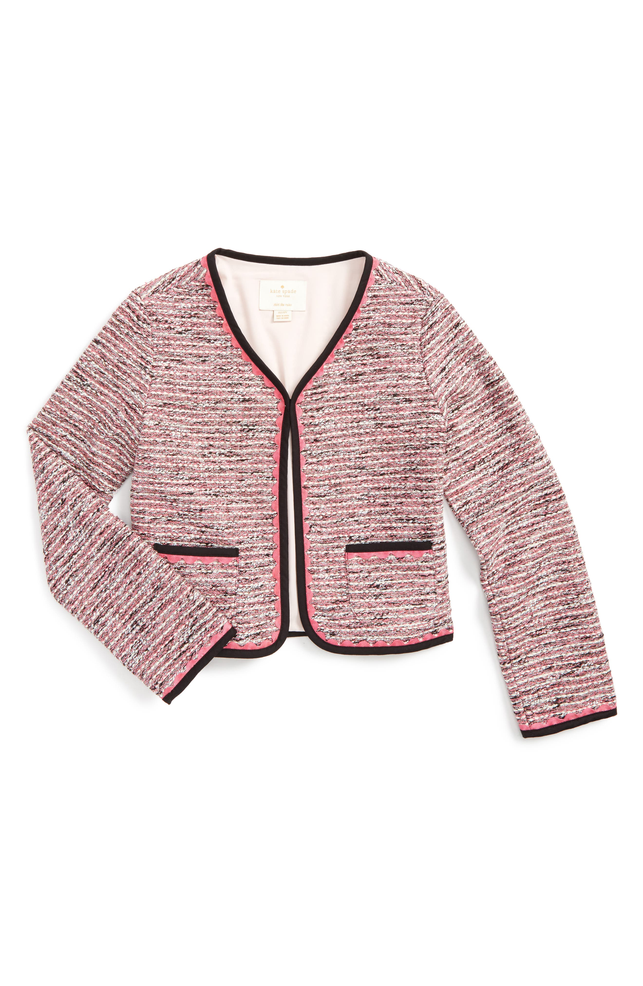 KATE SPADE NEW YORK tweed jacket