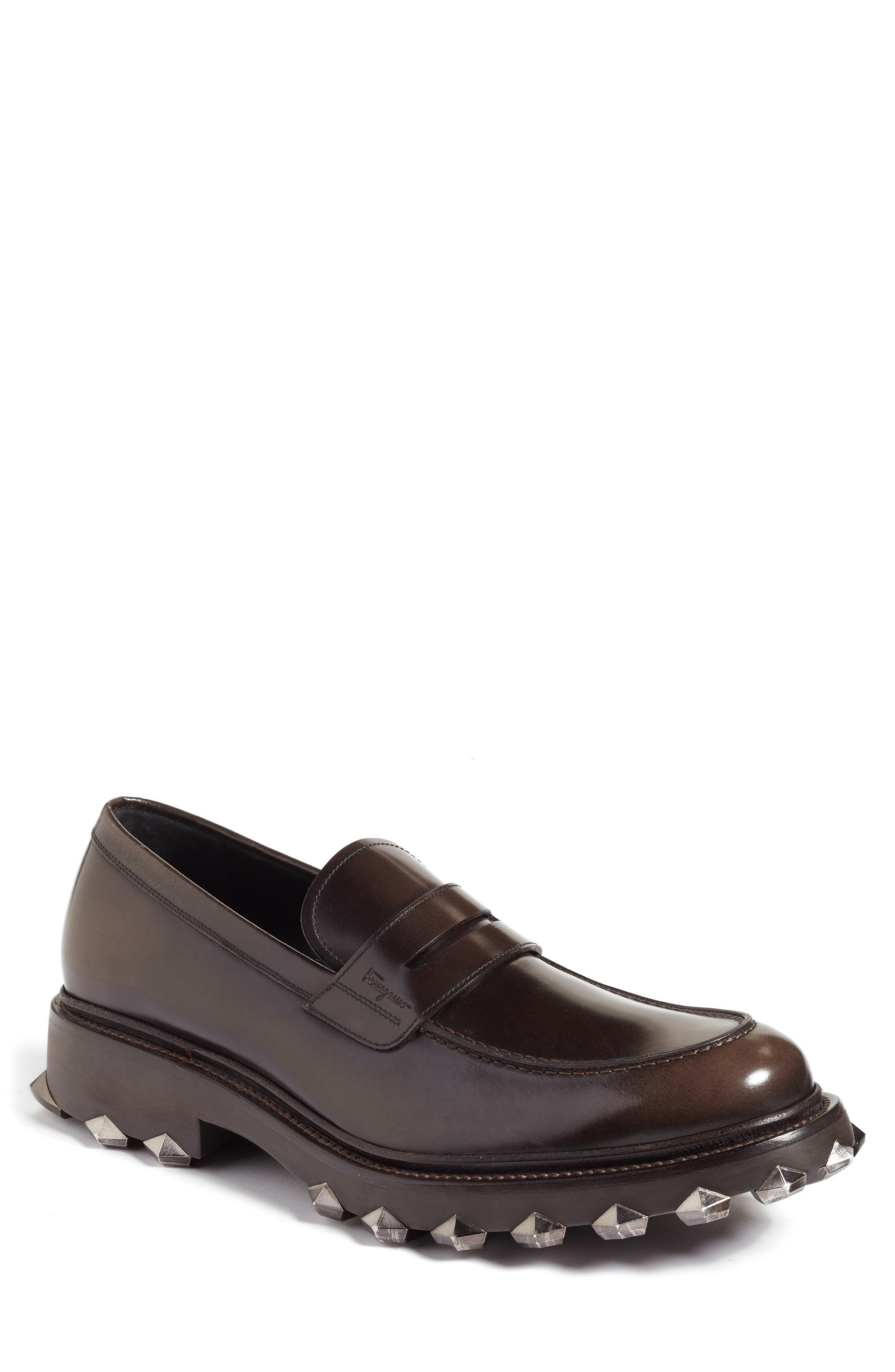 Alternate Image 1 Selected - Salvatore Ferragamo Penny Loafer (Men)