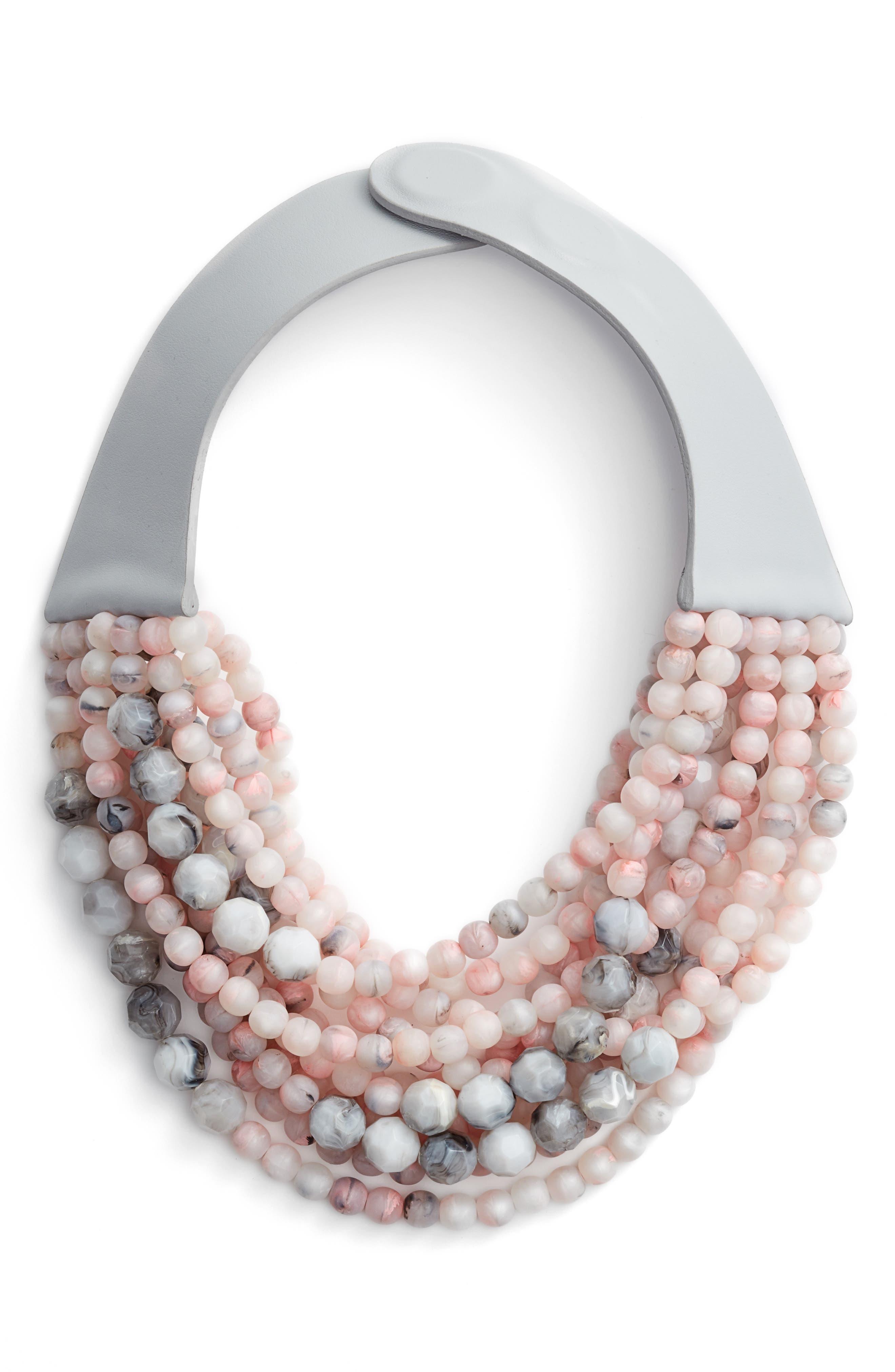 Farichild Baldwin Marcella Beaded Collar Necklace