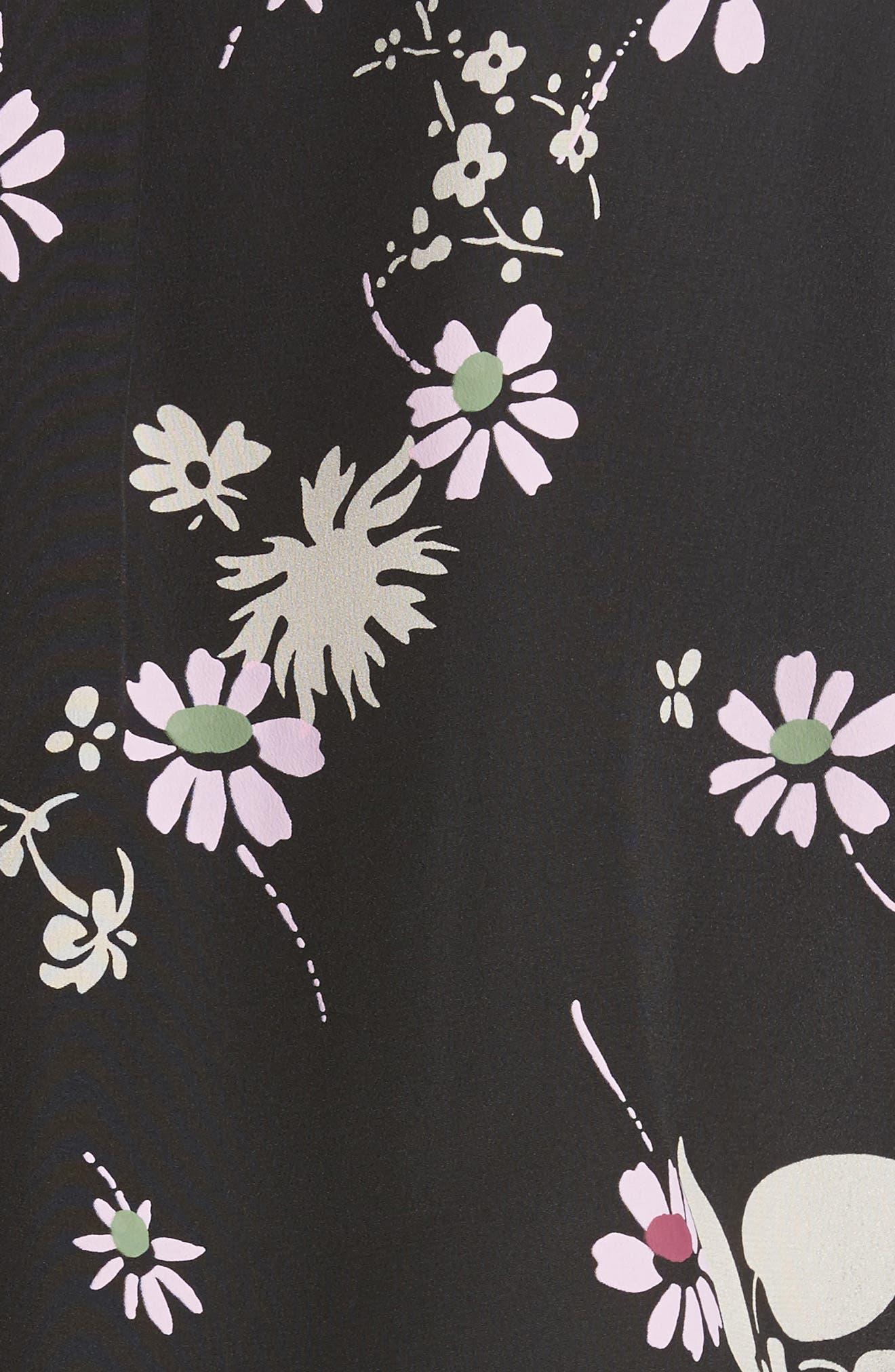 Alternate Image 3  - Valentino Flowers Fall Silk Shirt
